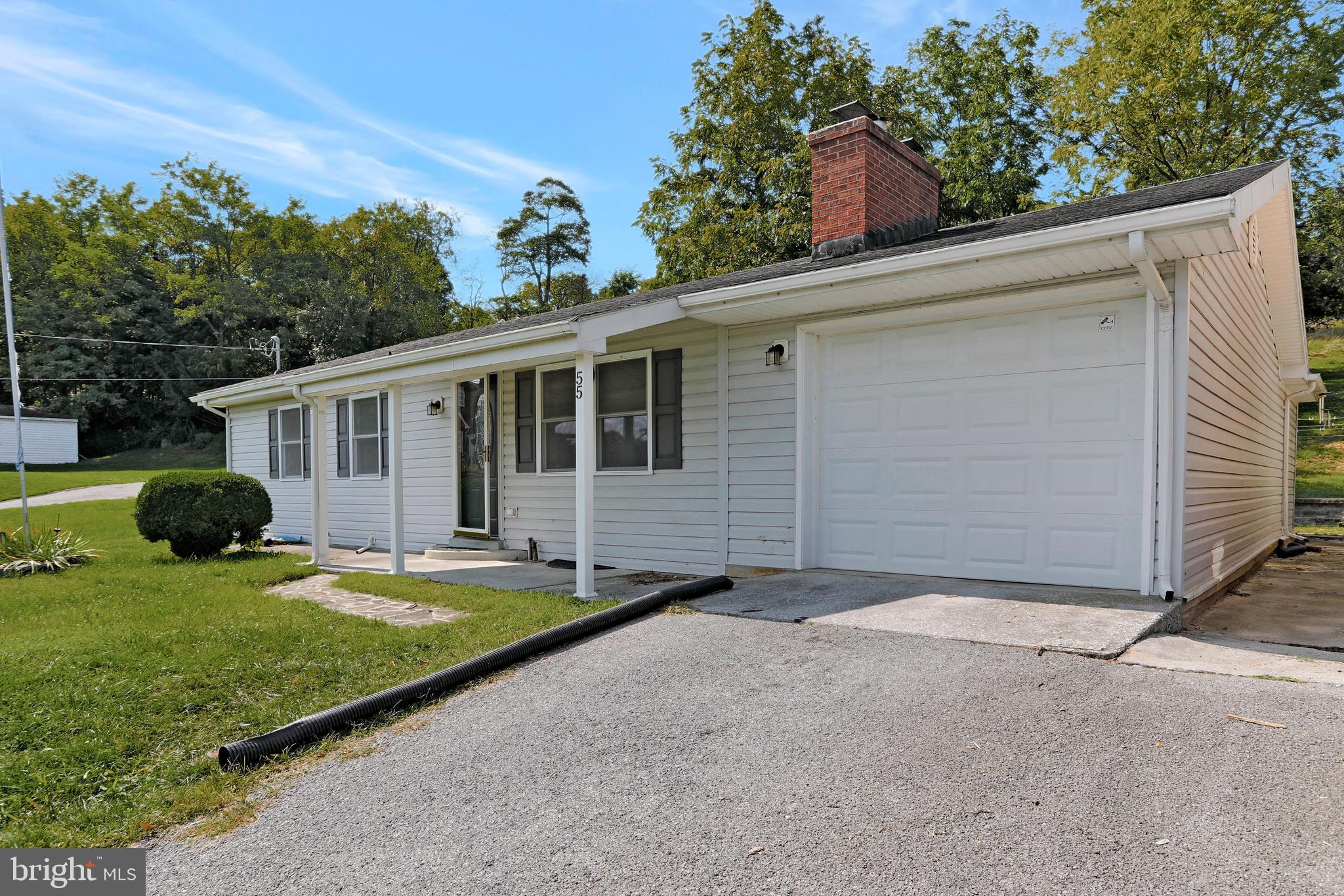 Great Location! Borders Harpers Ferry National Park.  3 bedroom rancher overlooking Bolivar.  Beauti
