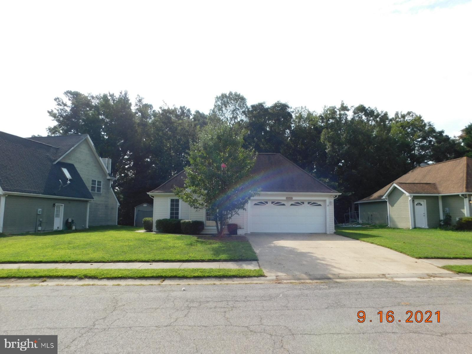 THIS SINGLE LEVEL, 3 BEDROOM, 2 BATH HOME HAS ALL NEW CARPET, FRESH PAINT AND IS WAITING FOR THE NEW
