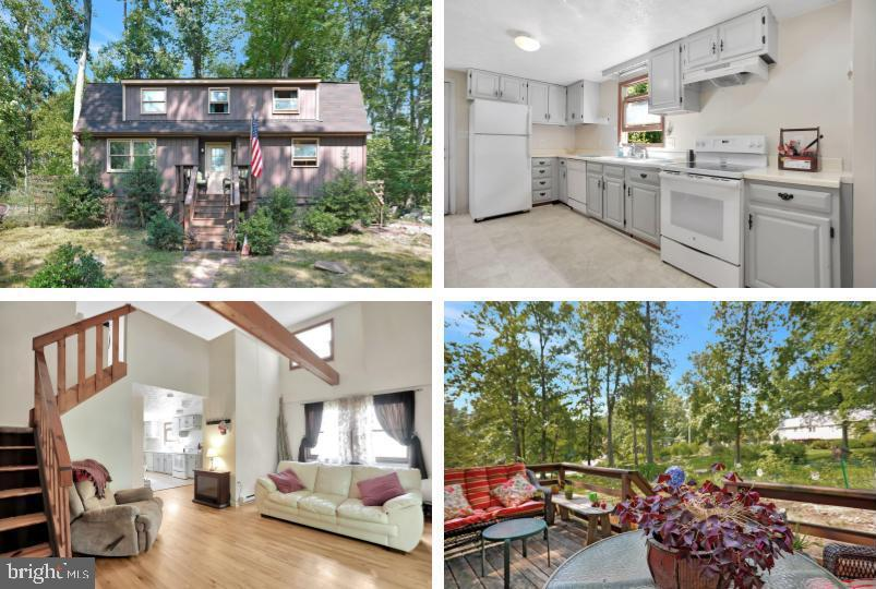 Wonderful cabin in the Shannondale community. Featuring 2 bedrooms, 2 full baths. Situated on just u