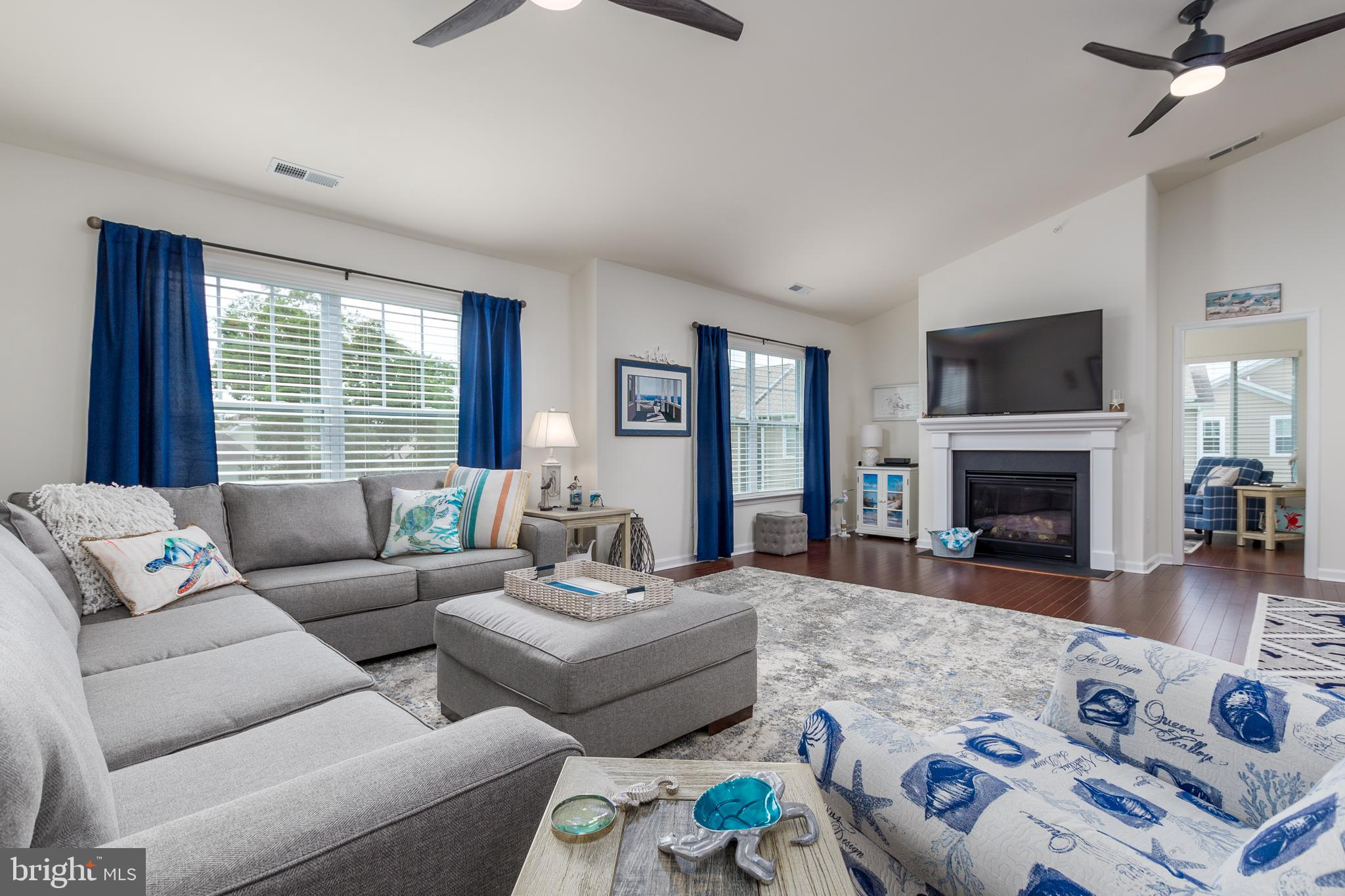 This gorgeous 3 bedroom, 2 bath condo shows like a model and is centrally located between Rehoboth a