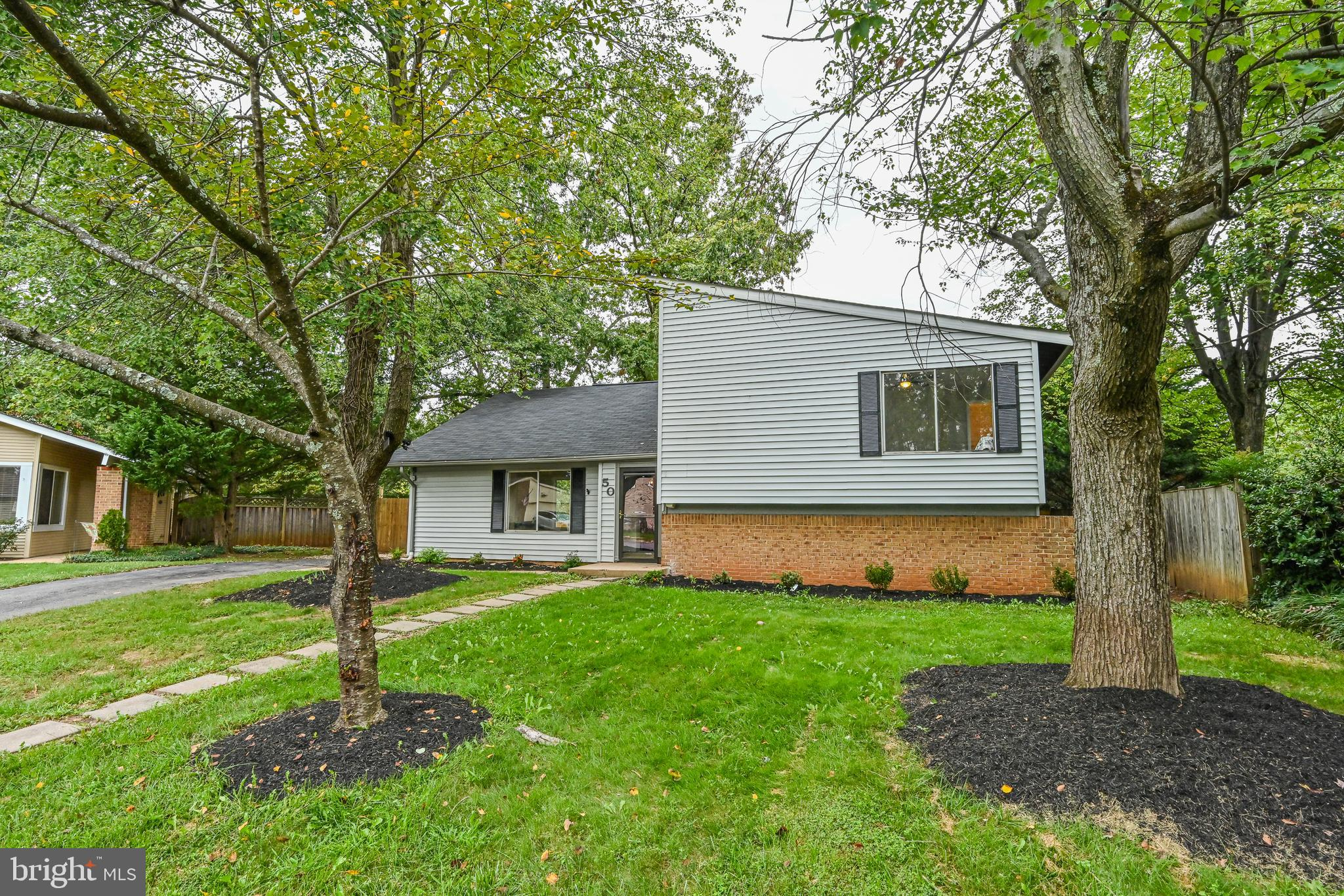 Move-in Ready Renovated Detached Home!  3 Full Bedrooms+Den and 3 Full Baths.  Wood Flooring on Main