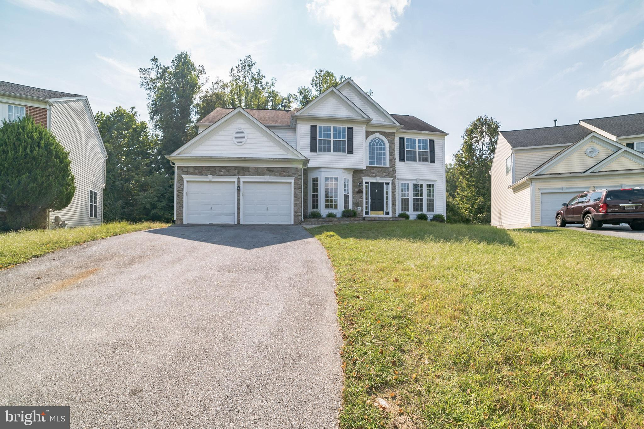 Welcome home to this fully updated stone front colonial beauty with x5bedrooms, 3.5 bathrooms and ov