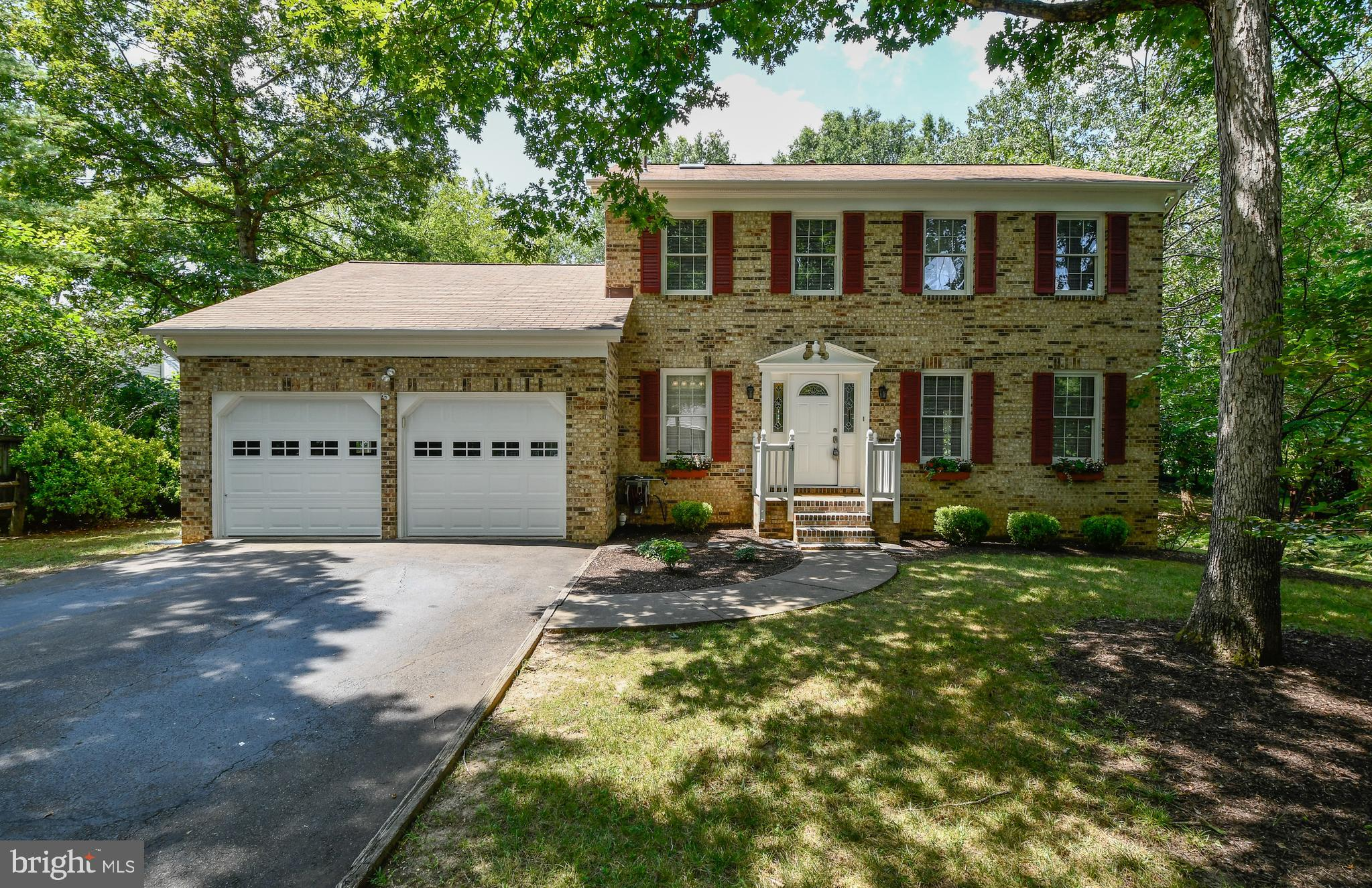 Move in Ready! Exciting 4 bedroom colonial will surely please! NEW paint throughout*Wood floors on m