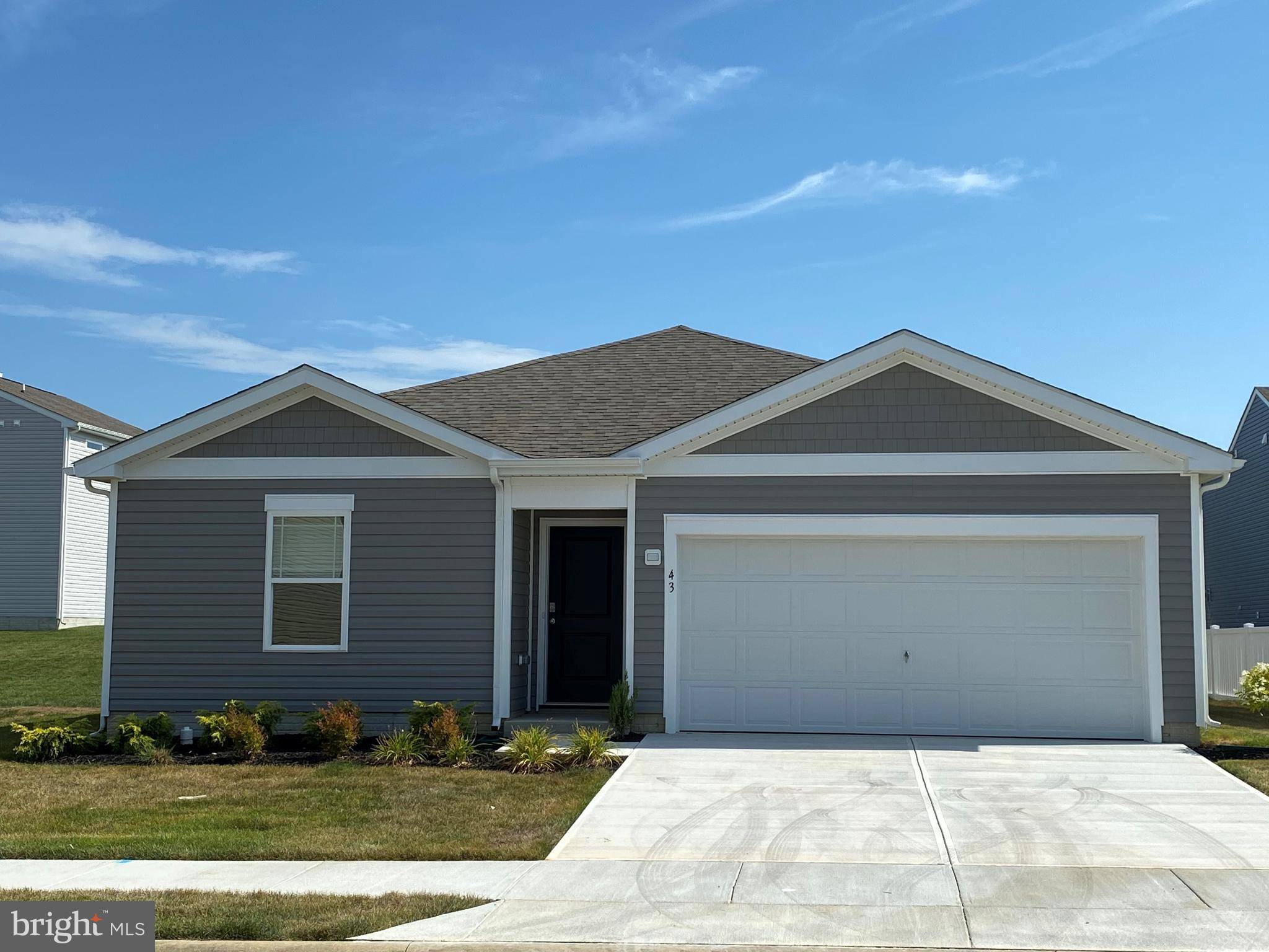 New construction ranch home in Snow Hill's newest neighborhood Huntingfields! The Freeport is 1,497