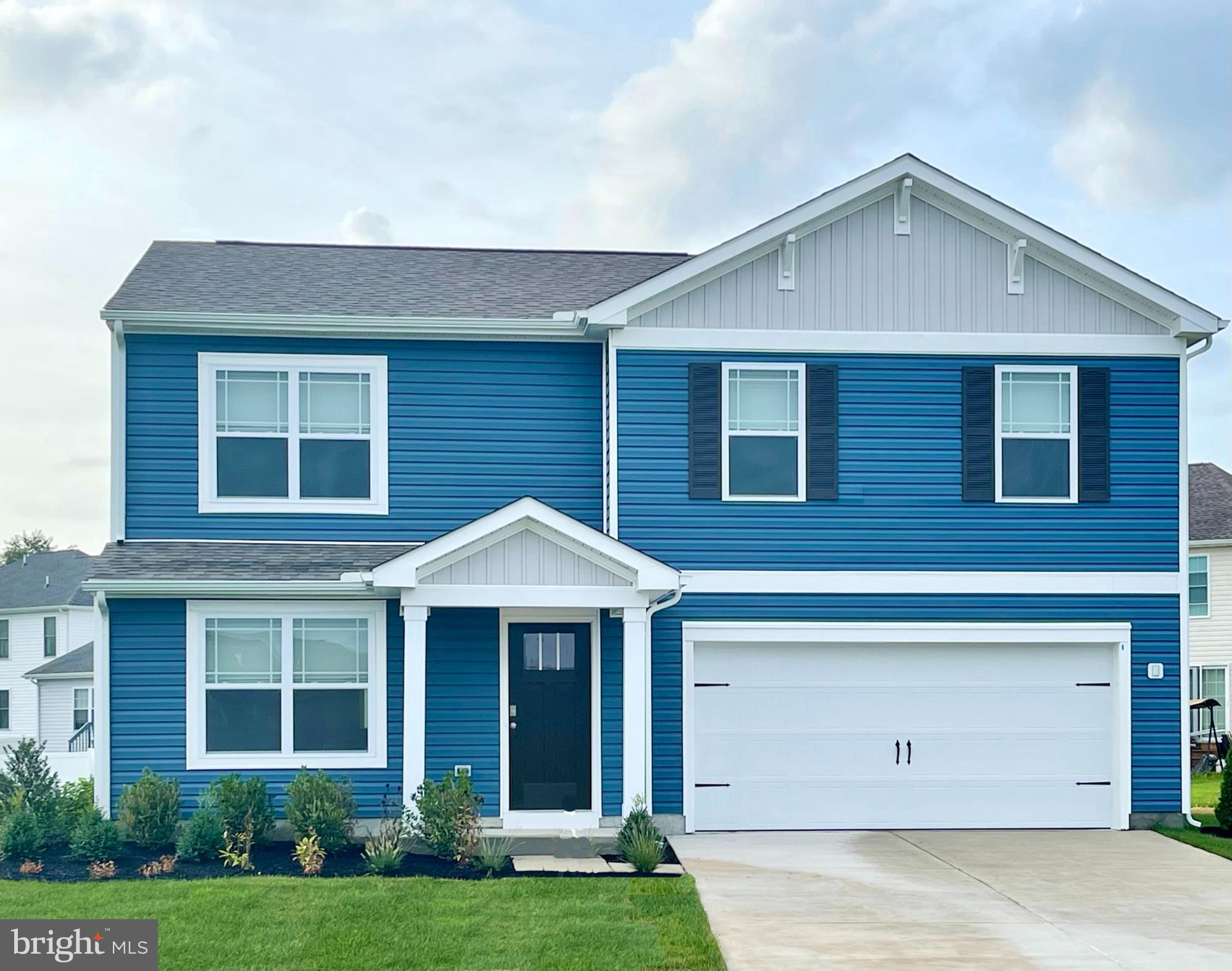 New construction home on a corner lot in Snow Hill's Huntingfields neighborhood! The Glendale, a 1,6