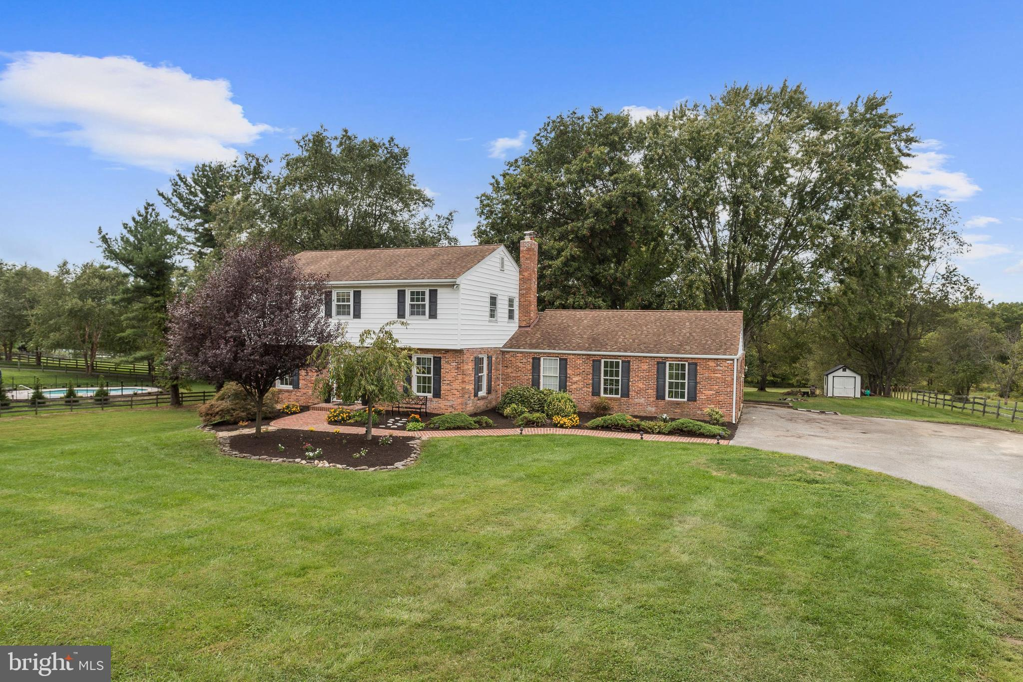 Absolutely stunning colonial home pristinely maintained, located on a premium 3.1 acres offering exc