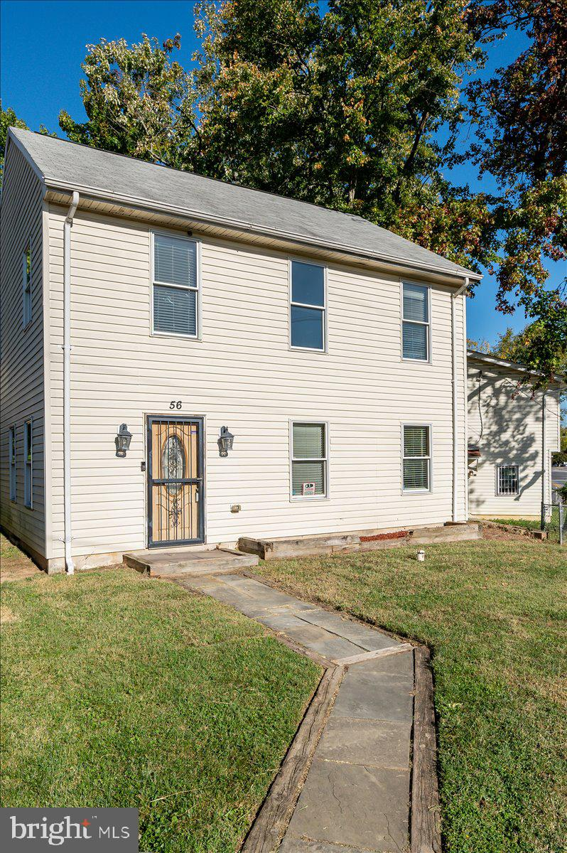 A lovely home nestled in the bustling Town of Capitol Heights.  This two-story, three bedroom, two a