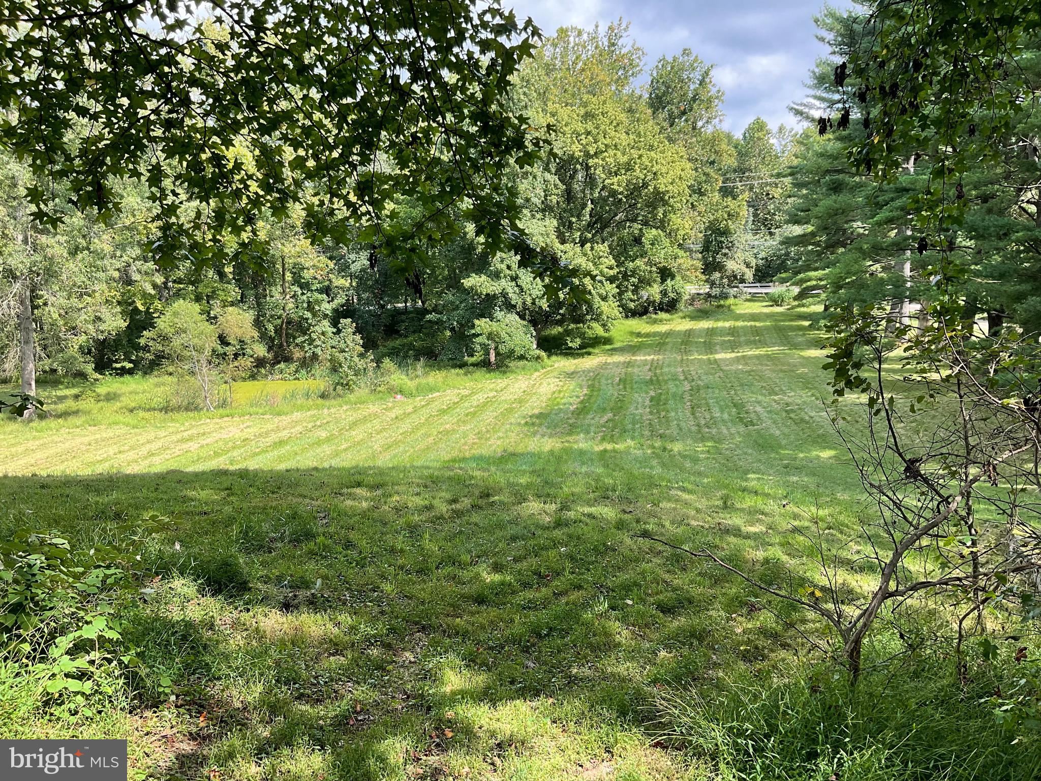 Imagine the potential of 3.75 acres! This listing is 1 lot of 2 lots that are being sold together. T
