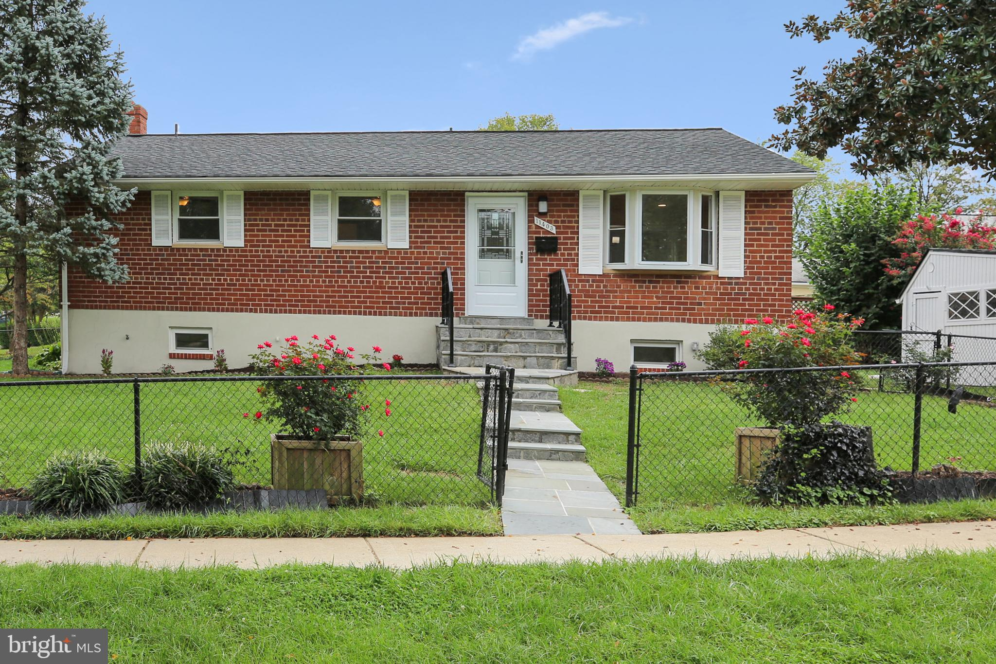 Welcome to this BEAUTIFULLY renovated single-family home sitting on a premium corner lot in the perf