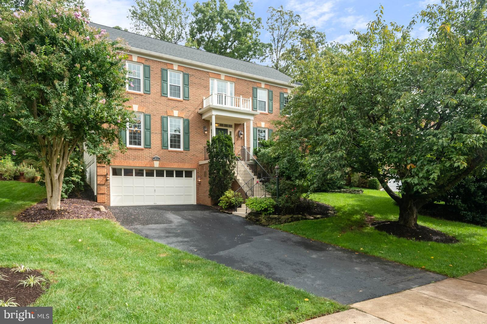 Welcome Home!  You are Going to Love this 4 Bedroom, 4.5 Bath, Brick Front Home with an Oversized 2