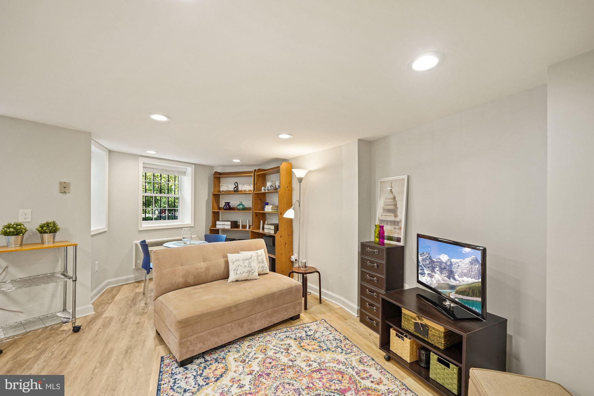 Best value for a 1BR Condo on Capitol Hill!  Tired of renting (?)  why not own this sweet garden lev
