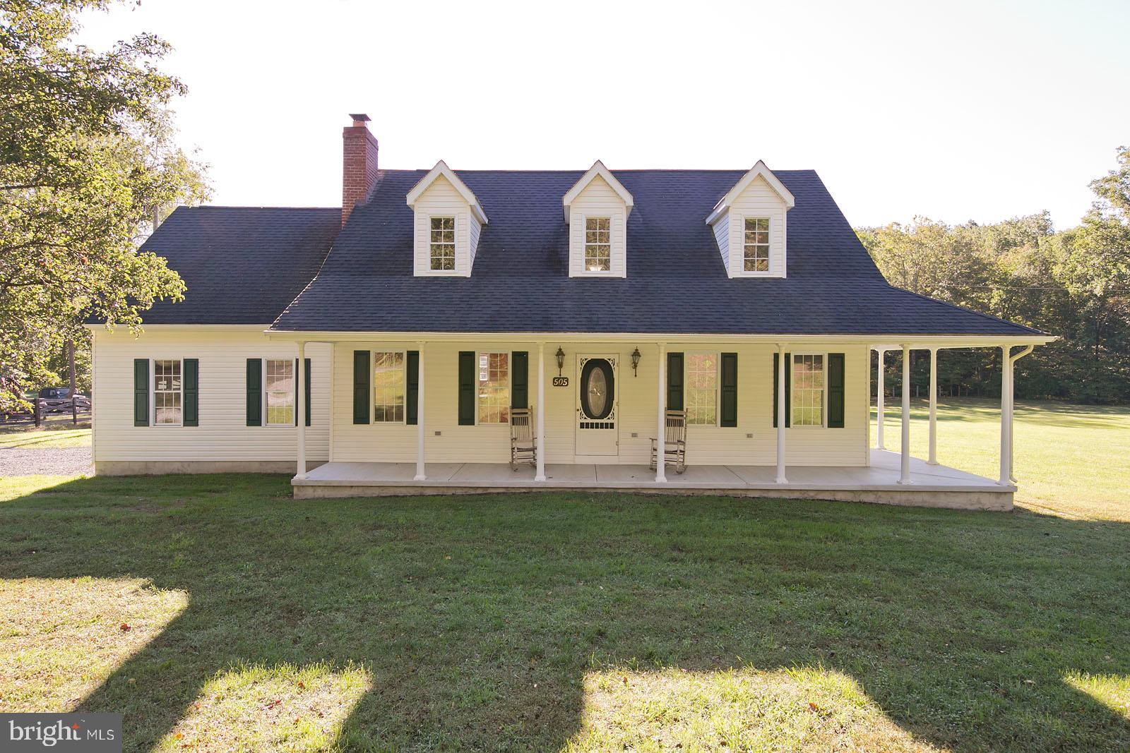 A cape cod farmette that is perfect for any buyer..3 + Acres, lovely stream, brand new carpet, resto