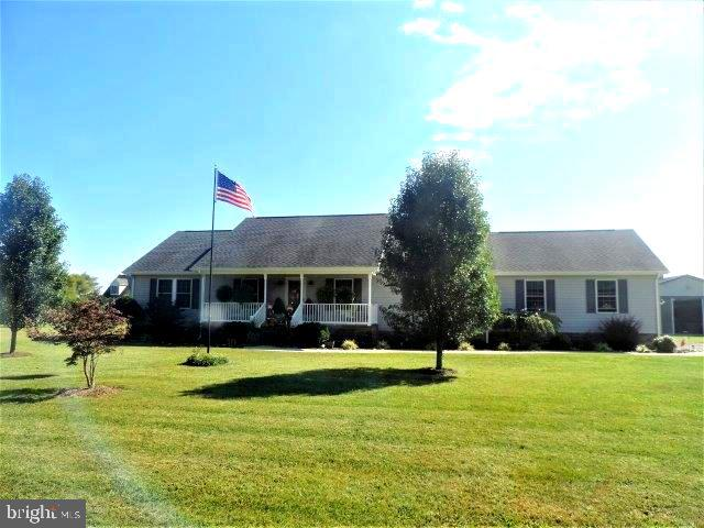Beautiful horse farm with custom built ranch home in quiet area close to ocean city ,Berlin, , Salisbury and all amenities. Has large barn and pastures. Outdoor pool with screened in    gazebo off of deck    42x36 Amish built pole barn. 15x13 tack room  and or studio apt. finished with bath, kitchen  and   hv/ac. 3 large stalls 1 wash stall plus large hay storage area has storage shed and equipment storage Could easily be converted to shop etc if you don't have horses