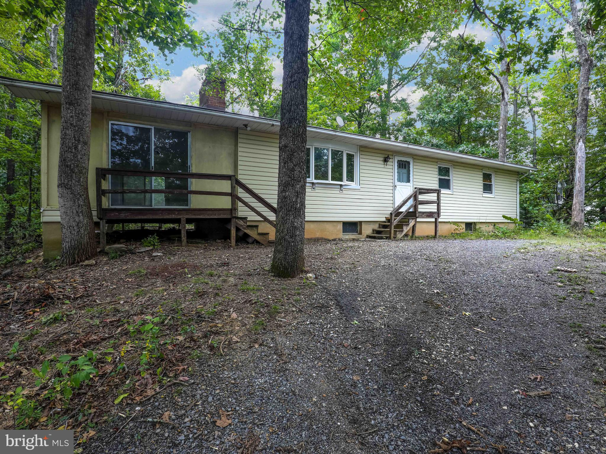 There's so much potential in this great ranch style home!   This 3 bedroom, 2 full bathroom home has great bones.     Here is the opportunity to make it the way YOU want it.  The full unfinished basement leaves so much room for growth.  Note:  needs new roof and siding is missing off of the back of the screened porch.    This property is being sold AS IS.  Call to make your private appointment.
