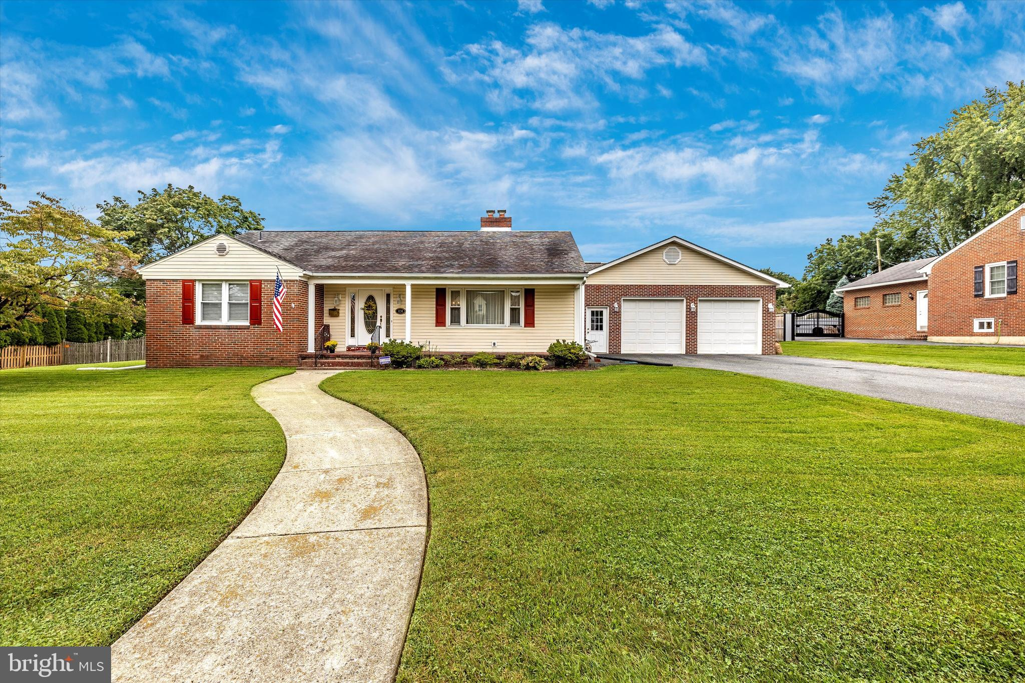 Solid well built Brick Rancher in an Amazing Location off of Carroll Parkway just beyond Carroll Cre