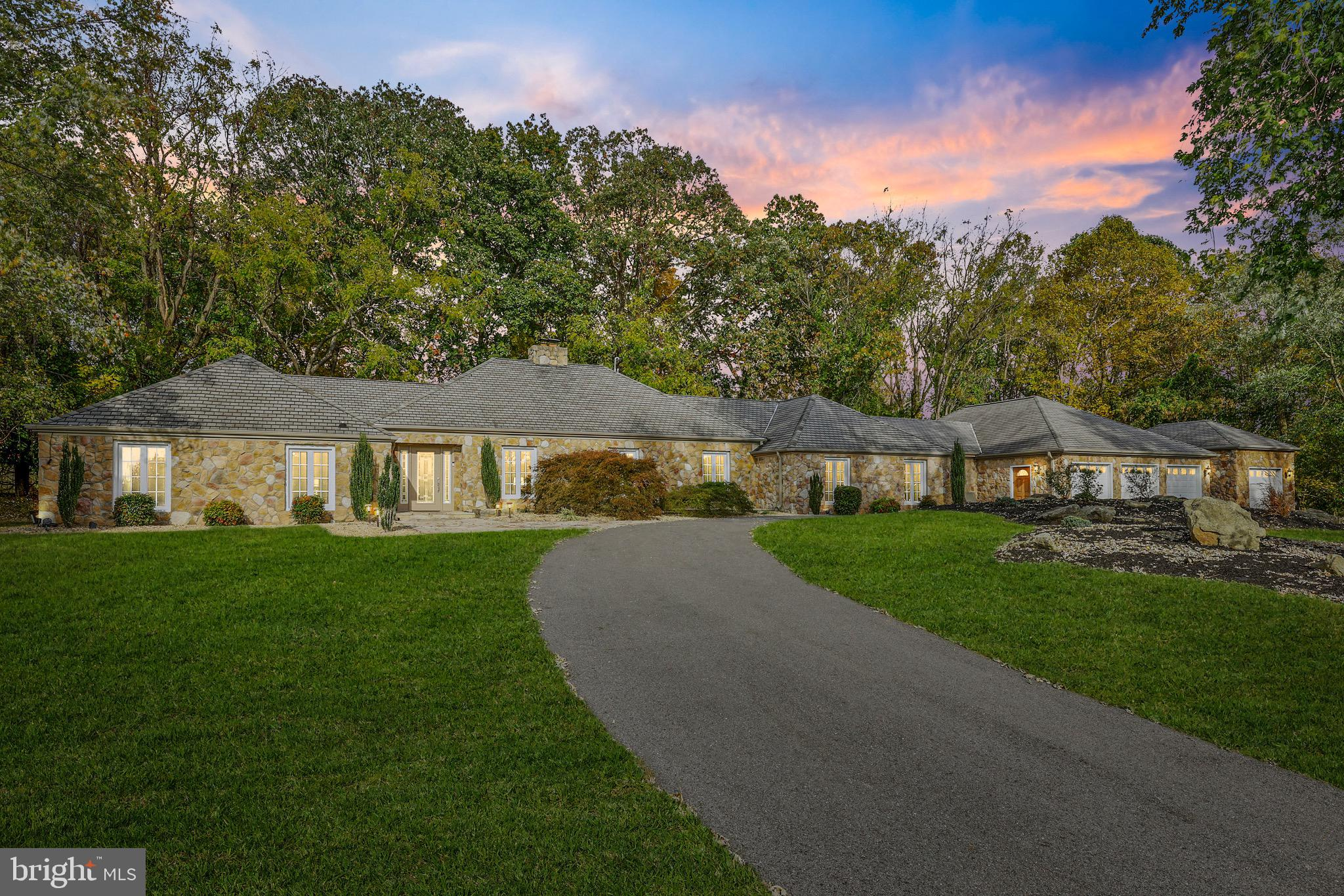 A one of a kind retreat located in desirable Western Howard County offers many stunning architectura