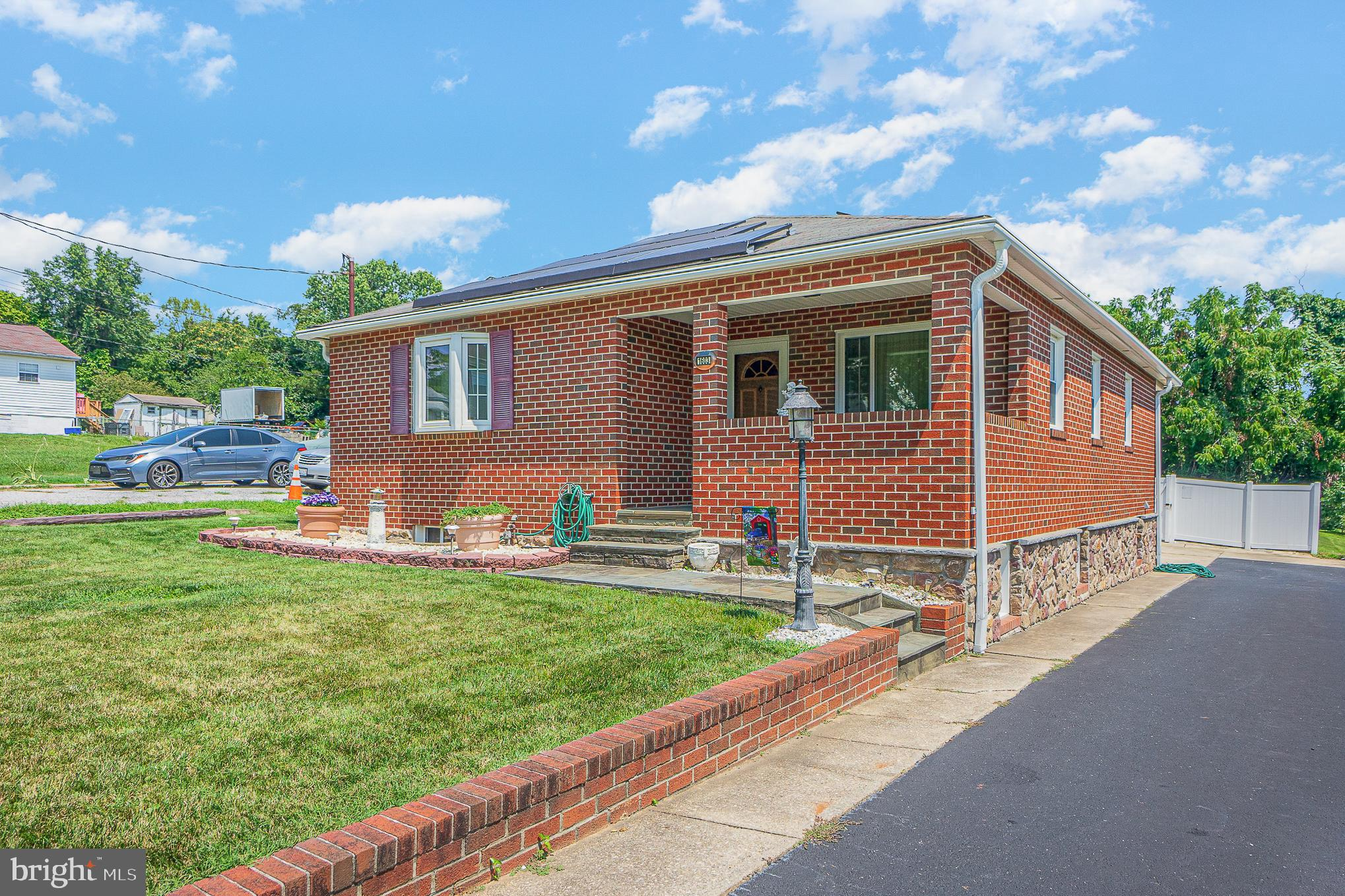 """***Back on the market***  and priced to sell!!!    Come see this meticulously maintained and updated, 3 bedroom, 3 full bath rancher with a basement.   The main floor has 3 bedrooms, 2 full baths and formal living and dining rooms.  The dining room has the infrastructure to move the kitchen to the first floor or you could convert it to a multi unit rental by installing an additional kitchen.   The basement is accessible with a chair lift outside as well as a stairlift inside.  The basement, with natural light throughout has a large family room, eat in kitchen, a large """"bonus"""" room, and ample storage in the laundry/utility room.  Most appliances, the hot water heater and both the heating and air conditioning systems are less than 5 years old.  The basement is dry having been water proofed with multiple sump pumps.   Additional highlights are the level lot, large concrete swimming pool, Leafguard gutters, 2 car garage, solar panels that are owned, and large storage shed!!  So much to see and so well taken care of."""