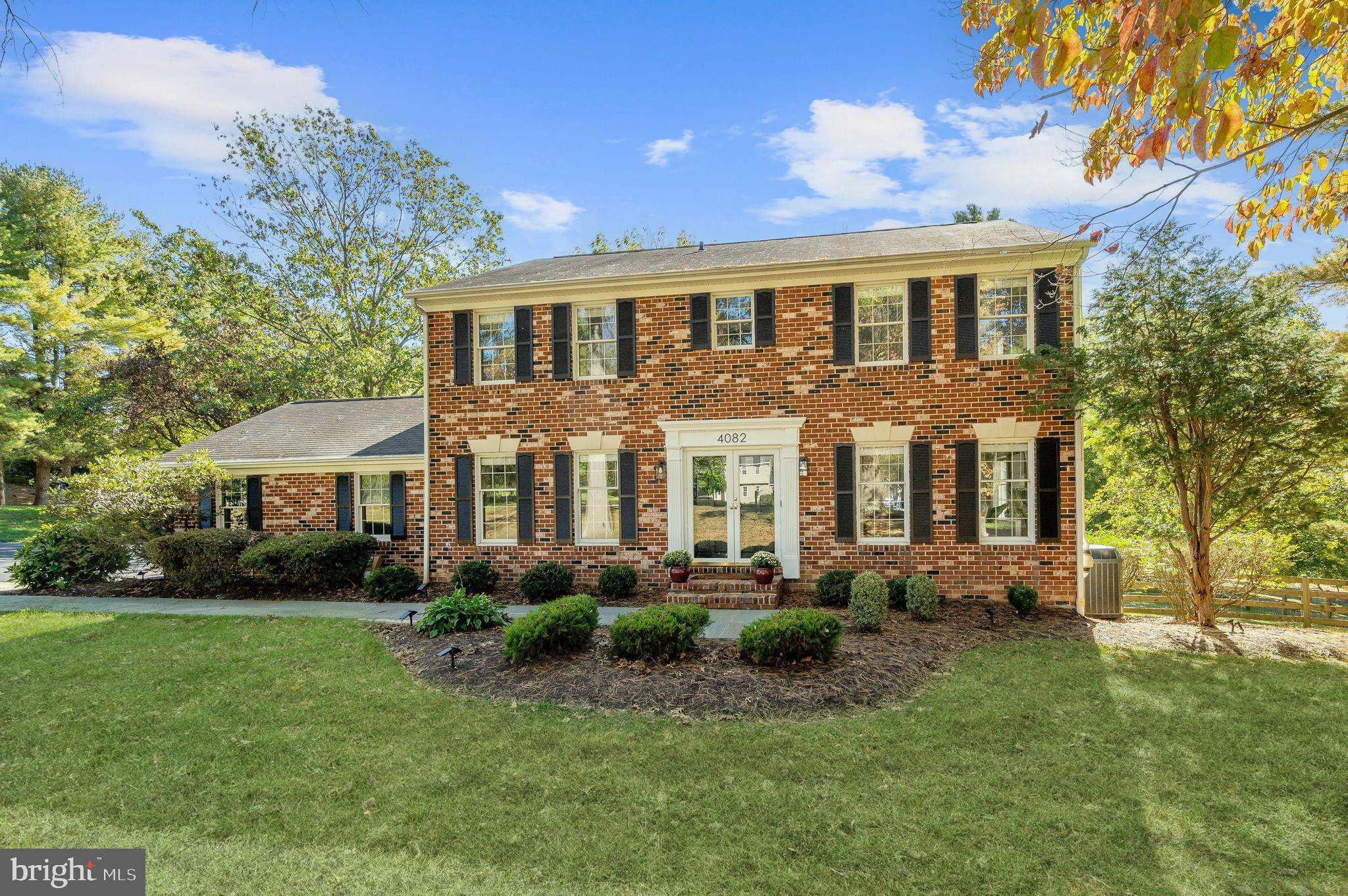 Beautiful colonial home in sought after location. This home offers 4 bedrooms, 2.5 bathrooms and sit