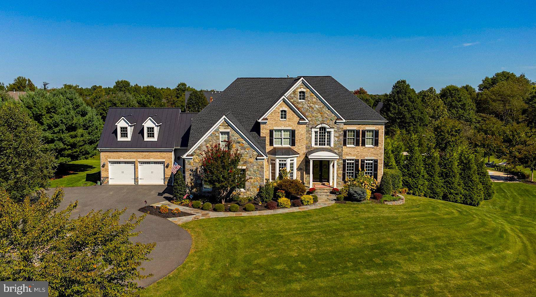 Stunning Conservancy Estate Home in sought after Lenah Run, sited on just over 30 acres and is 1 of