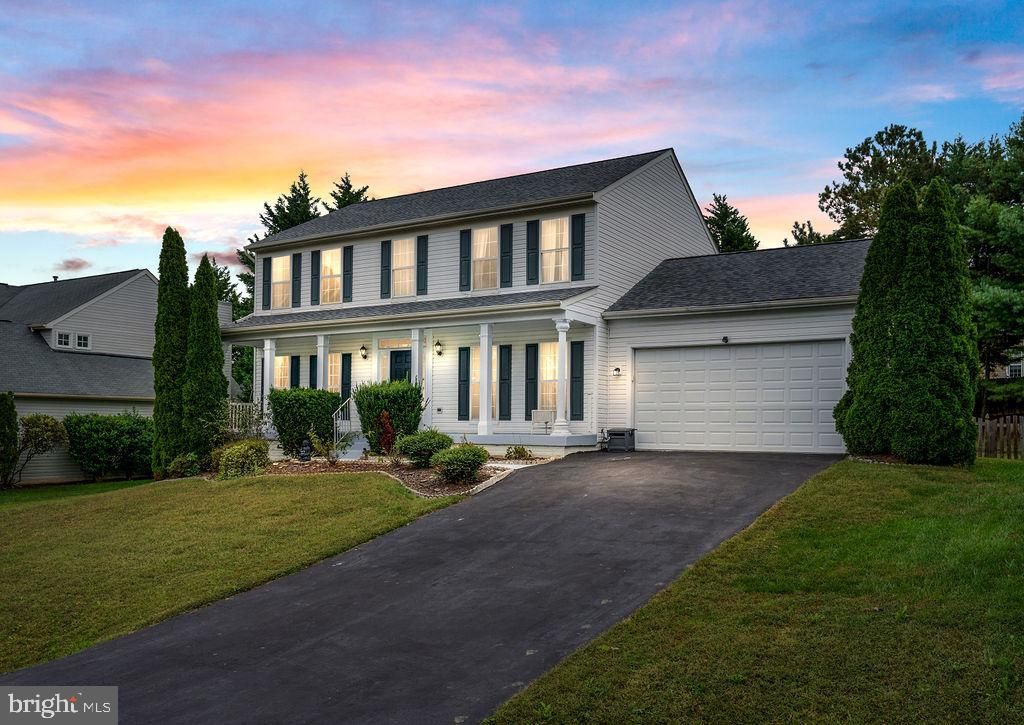 Welcome home to 10017 Carters Grove Rd! This convenient neighborhood is close to shopping, restaurants, medical offices, hospital, and I-95! Lee's Hill offers a clubhouse, pool, tennis courts, golf, trails, and more. HOA also includes trash pickup and snow removal. New roof in 2019. Kitchen remodeled in 2017...new cabinetry, granite countertops, stainless steel appliances. HVAC replaced in 2017. Brand new 16X16 Trex deck in 2021. This home welcomes you in with a great floorplan. Scroll through the pictures to see all of the rooms, including Living Room, Dining Room, Family Room with a gas fireplace, and Kitchen with door to deck on main level. Upstairs includes 4 bedrooms and 2 bathrooms. The Primary Bedroom and Bathroom suite is spacious with 2 closets, dual sink vanity, jetted tub, and separate shower. The basement has plenty of space for fun and games! Separate zones in the large Rec room, so you could have an office, TV area, game room, homeschooling zone, etc., plus a full bathroom. The backyard is great for entertaining with new Trex deck and fenced yard with gate. Enjoy your new home, inside and out!