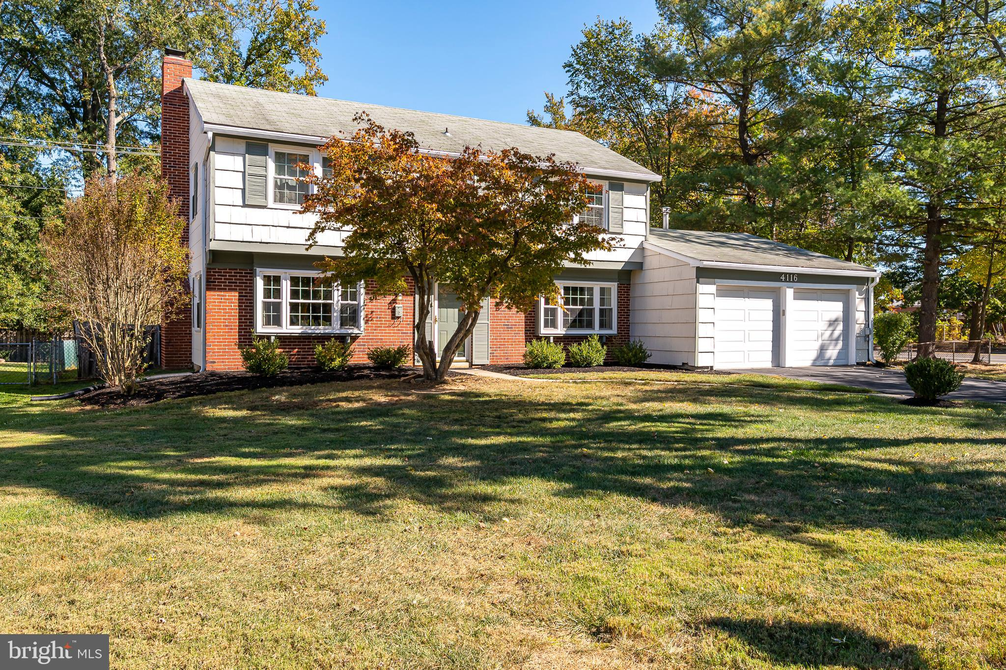 Spacious Colonial sited in Whitehall at Belair community offering 4 bedrooms with 2 full and 1 half