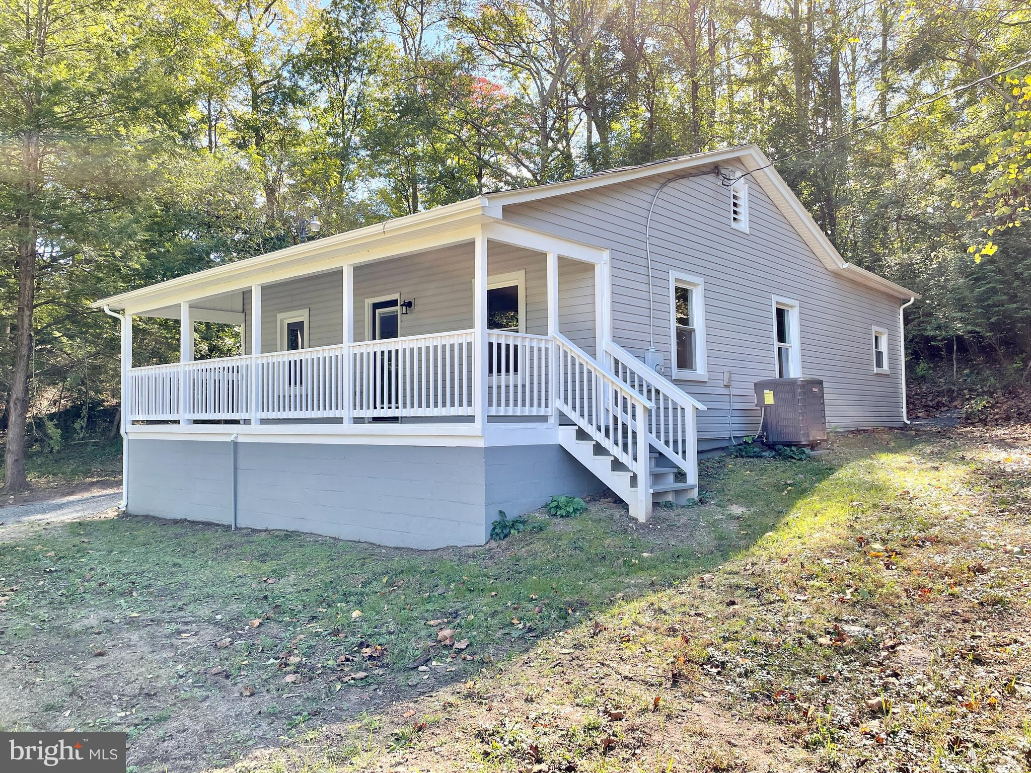 Charming Bungalow in North Stafford on 2.24 secluded acres. Country Living at its finest! This home