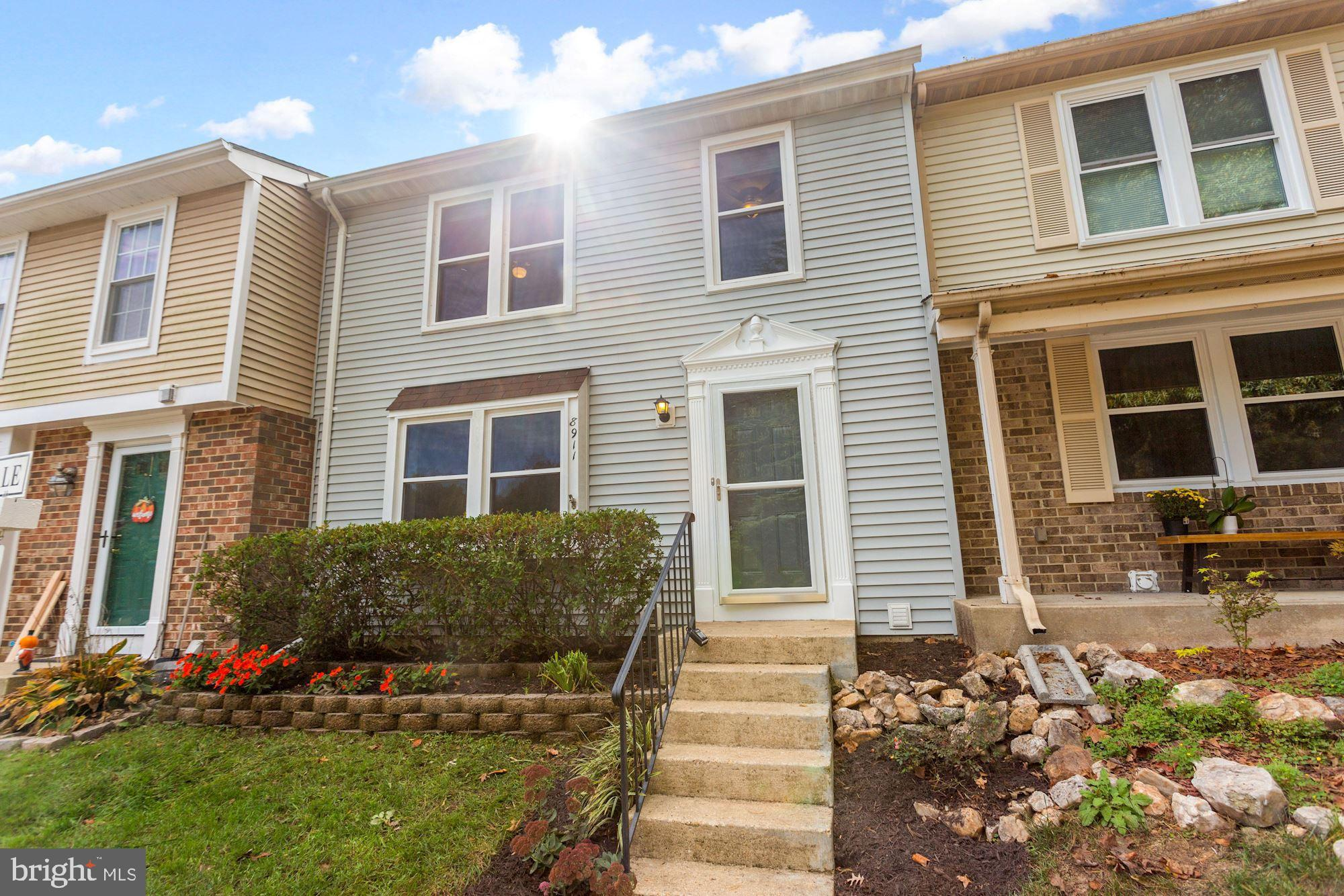 Beautiful, freshly updated 3BR, 2.5Ba townhouse. New trex decking ('20) that backs to trees and has