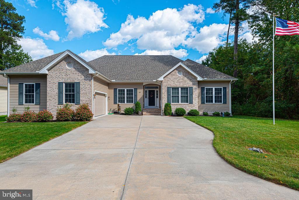 Beautifully maintained home in one of Ocean Pines most desirable neighborhoods! This spacious home shows pride of ownership and has been gently used. One level living with a screen porch and an oversized garage. There is a large floored attic which could be converted into extra living space.