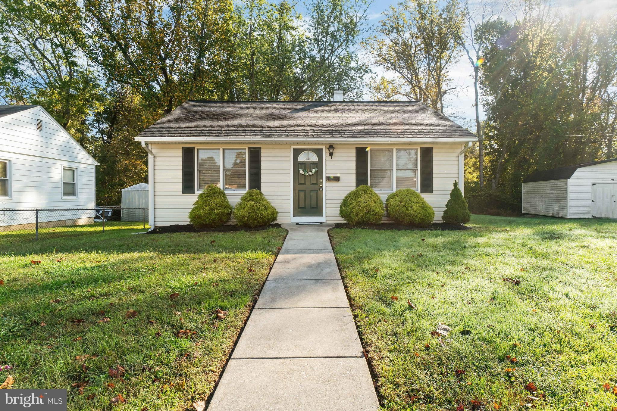 SAY YES TO THE ADDRESS! Move in ready rancher located in Friendship Heights! The kitchen offers ampl