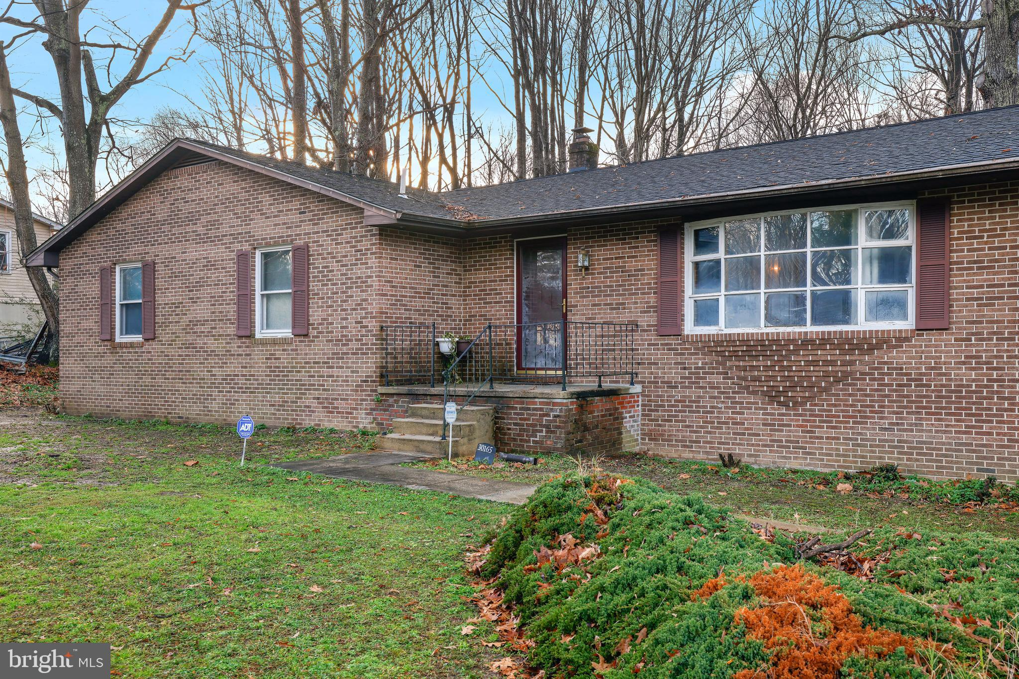 Nice dwelling on a beautiful wooded lot. Charming all brick home with tons of space for comfortable