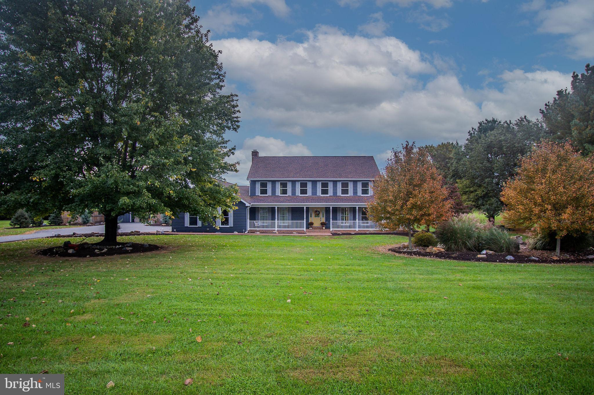 Location, Location, Location! This home is on 1.31 acres in the sought after Nollville Manor Subdivi