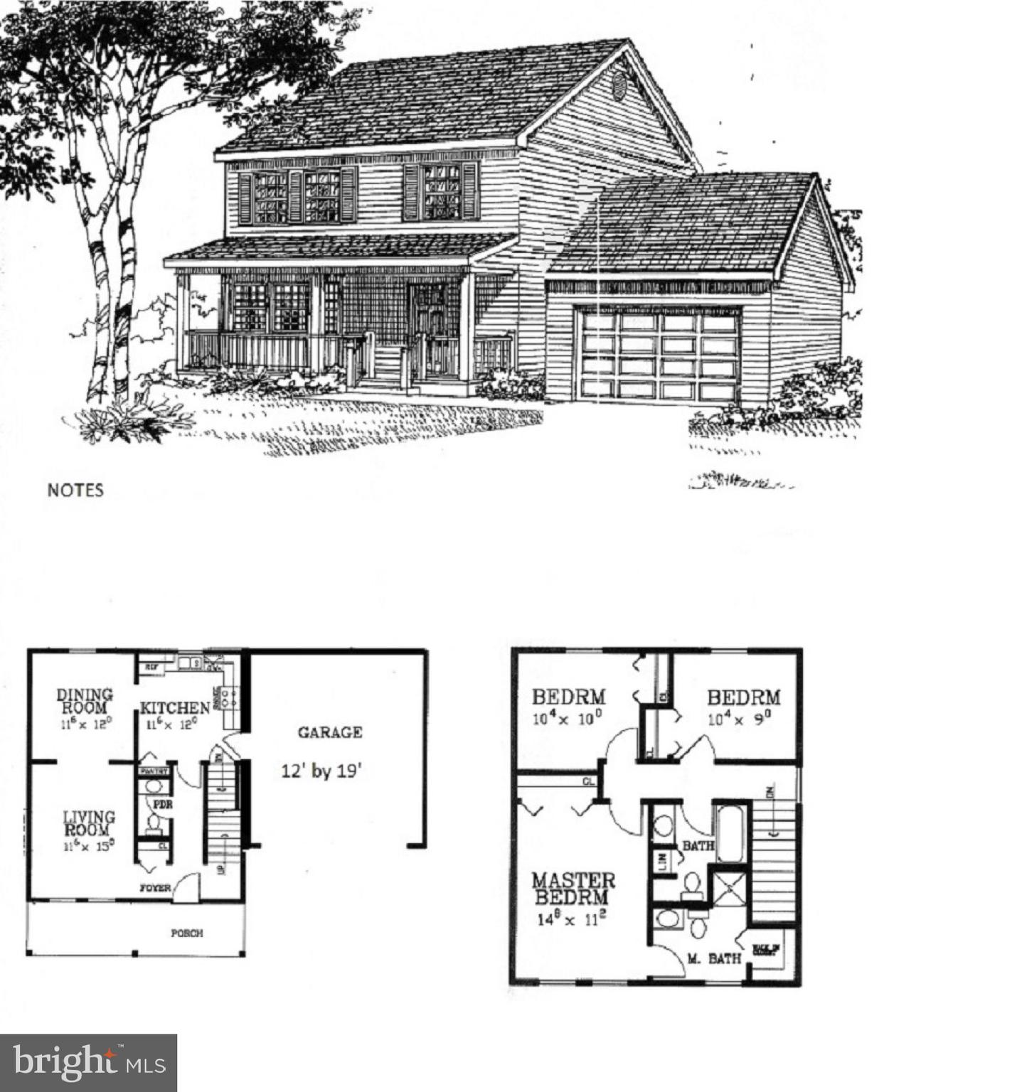 To be built: New colonial to be built in Shenandoah North . This home features upgrades that include