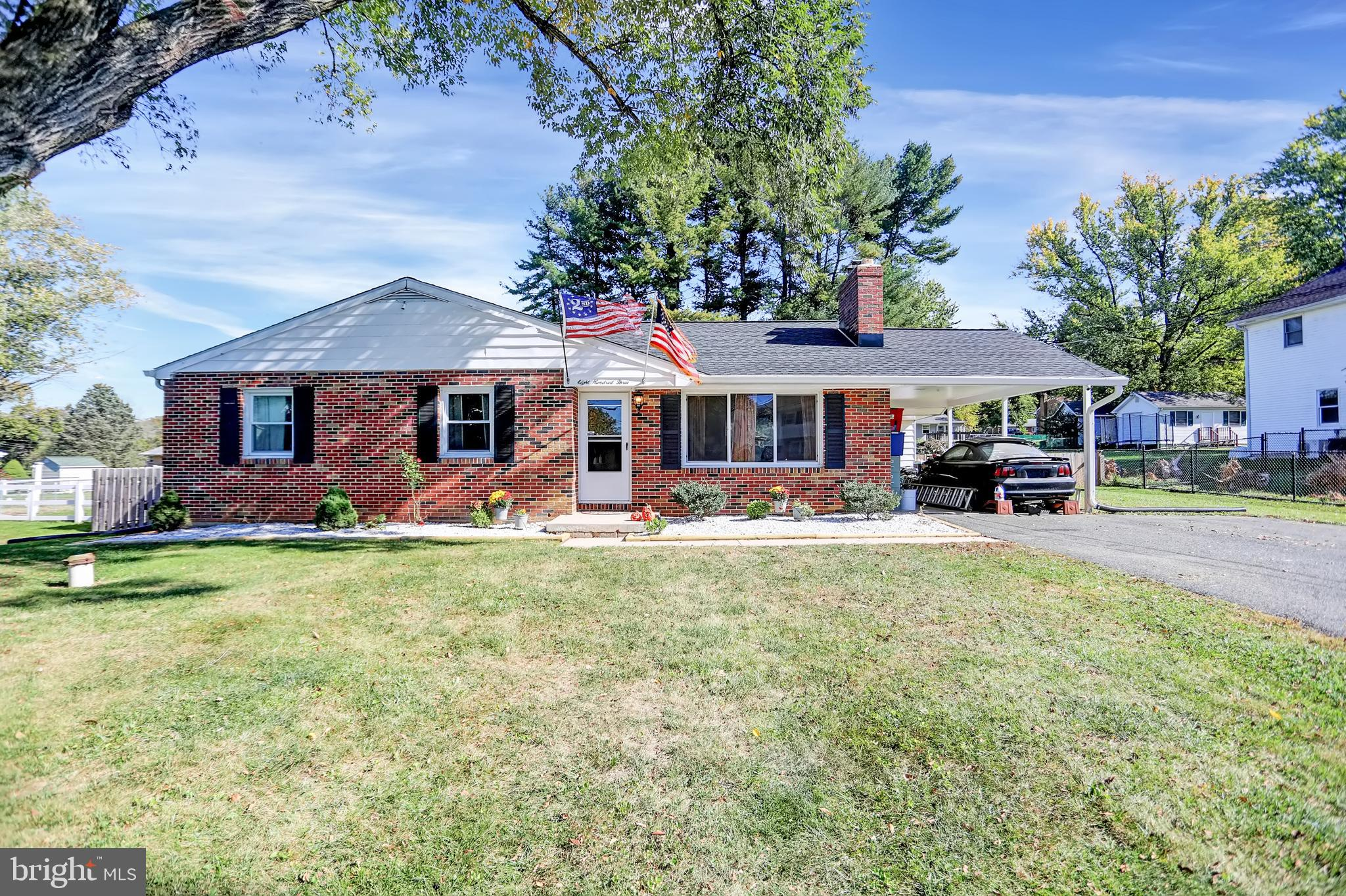 Welcome home!!  This rancher will charm you from the moment you pull up in front of the long drivewa