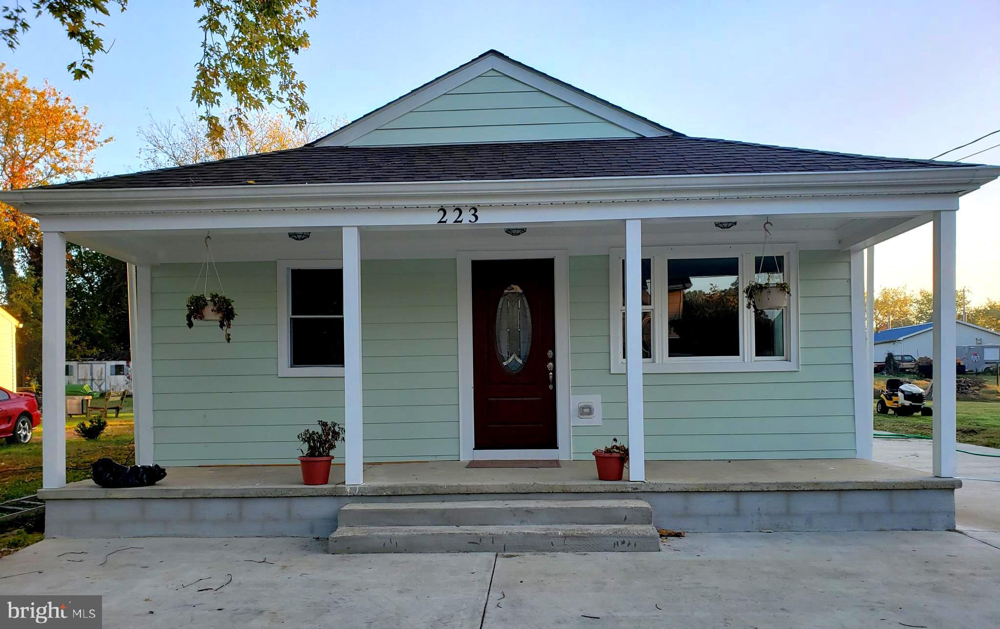 """Cozy home with the feel of """"home"""" on a good size lot in the quaint town of Church Hill.  The kitchen"""