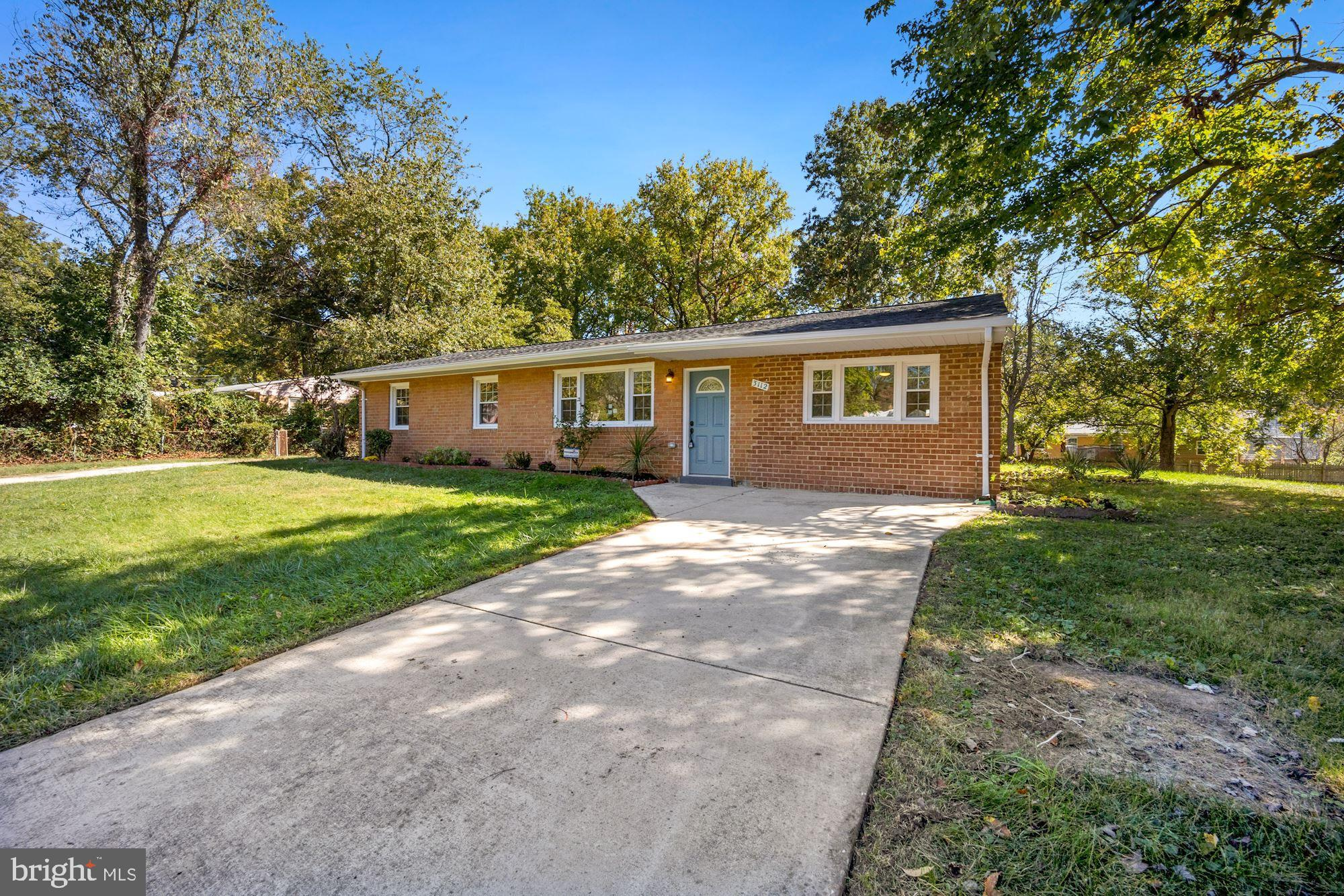Welcome home to this beautiful Westphalia Estates large corner lot, brick rambler with 4 spacious be