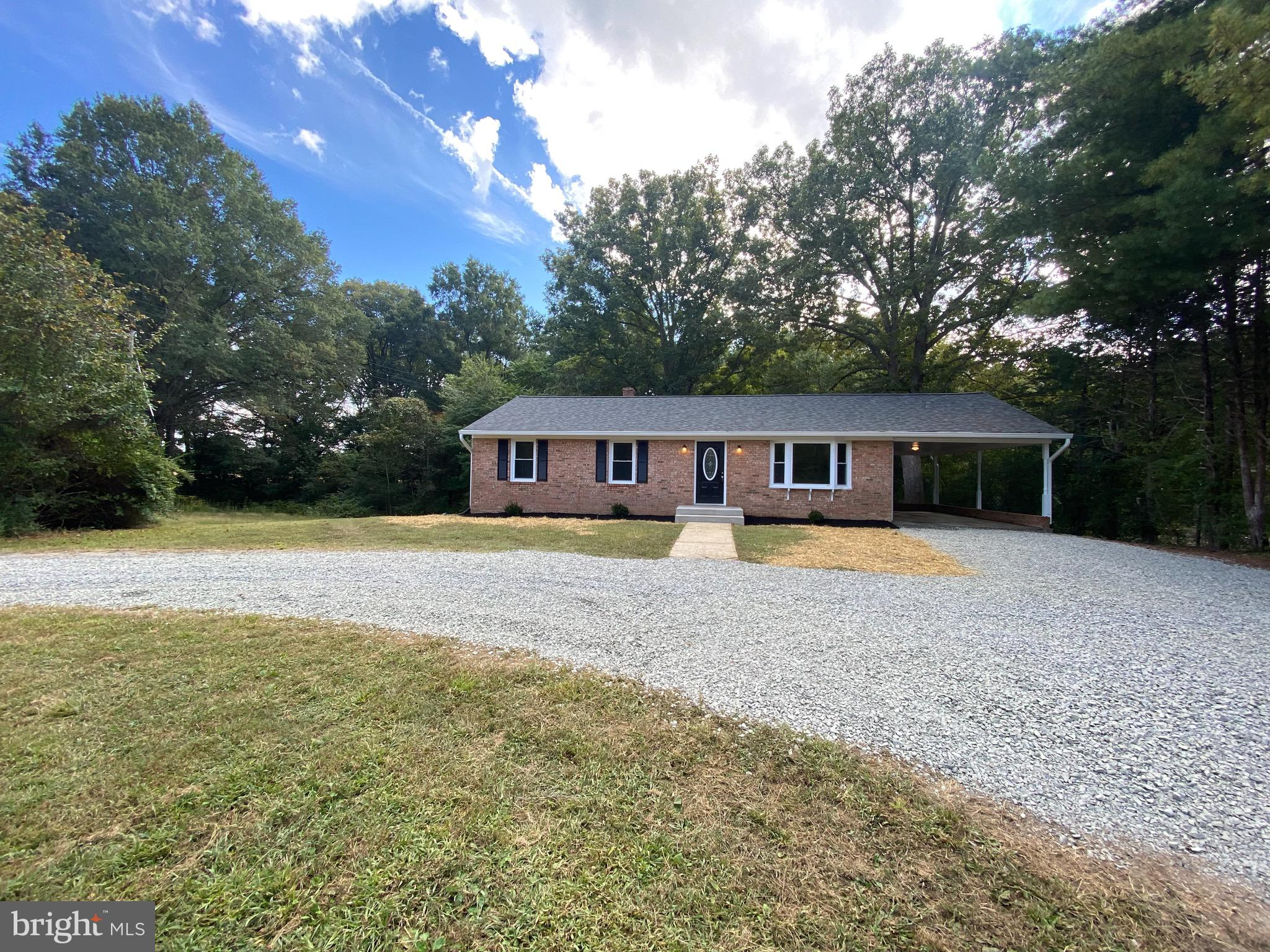 Completely renovated, This move in ready rambler is located in South Stafford.  Updates include: New
