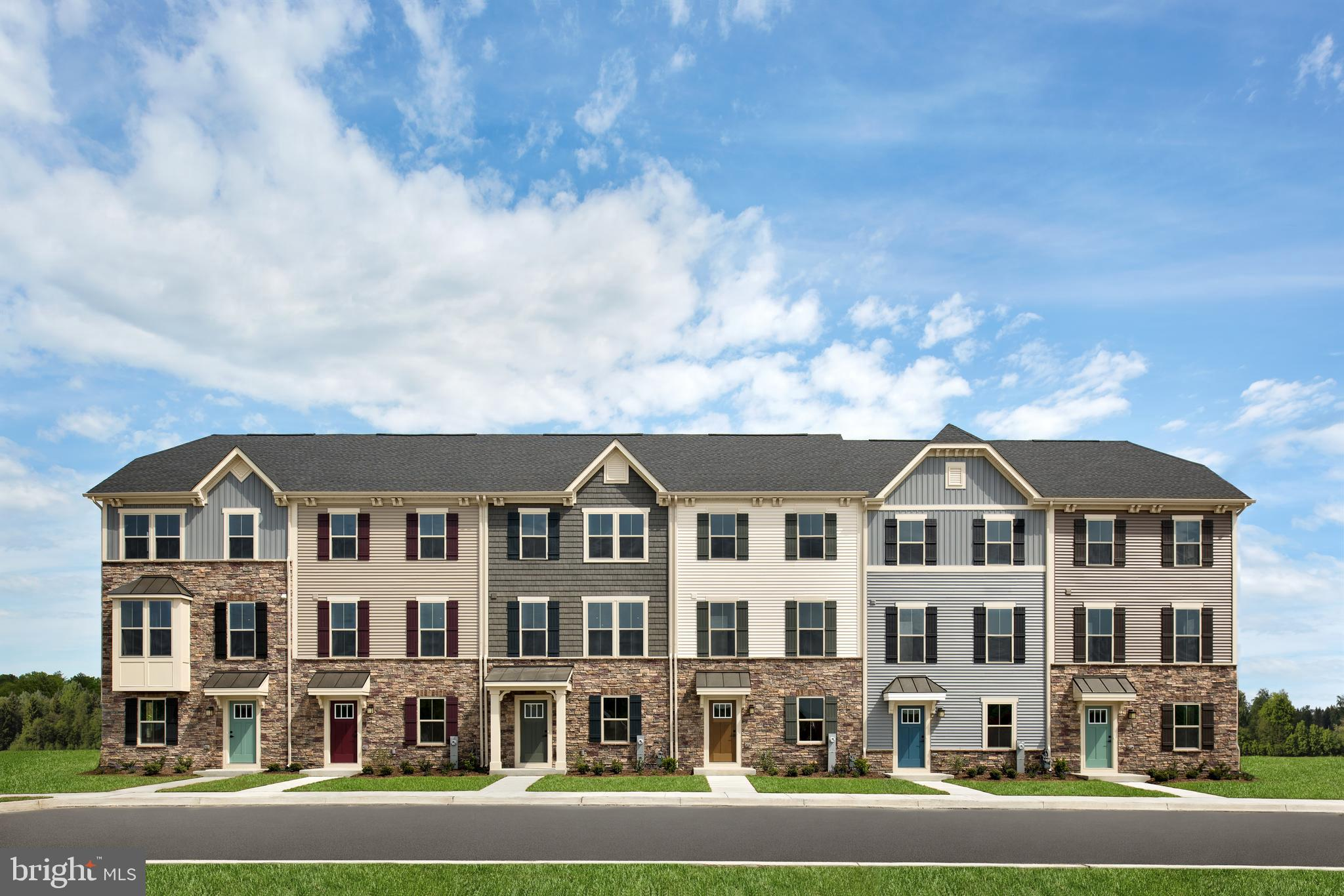 The convenience of townhome living meets the amenities of a single family home in the Mozart! Luxury