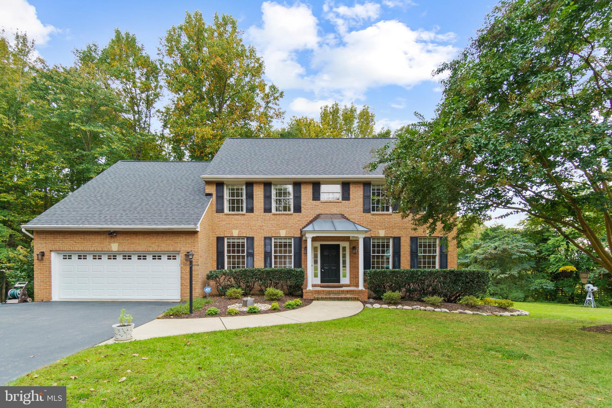 Welcome home to this amazing Lothian retreat! Tucked into the trees for maximum privacy, this 2 acre