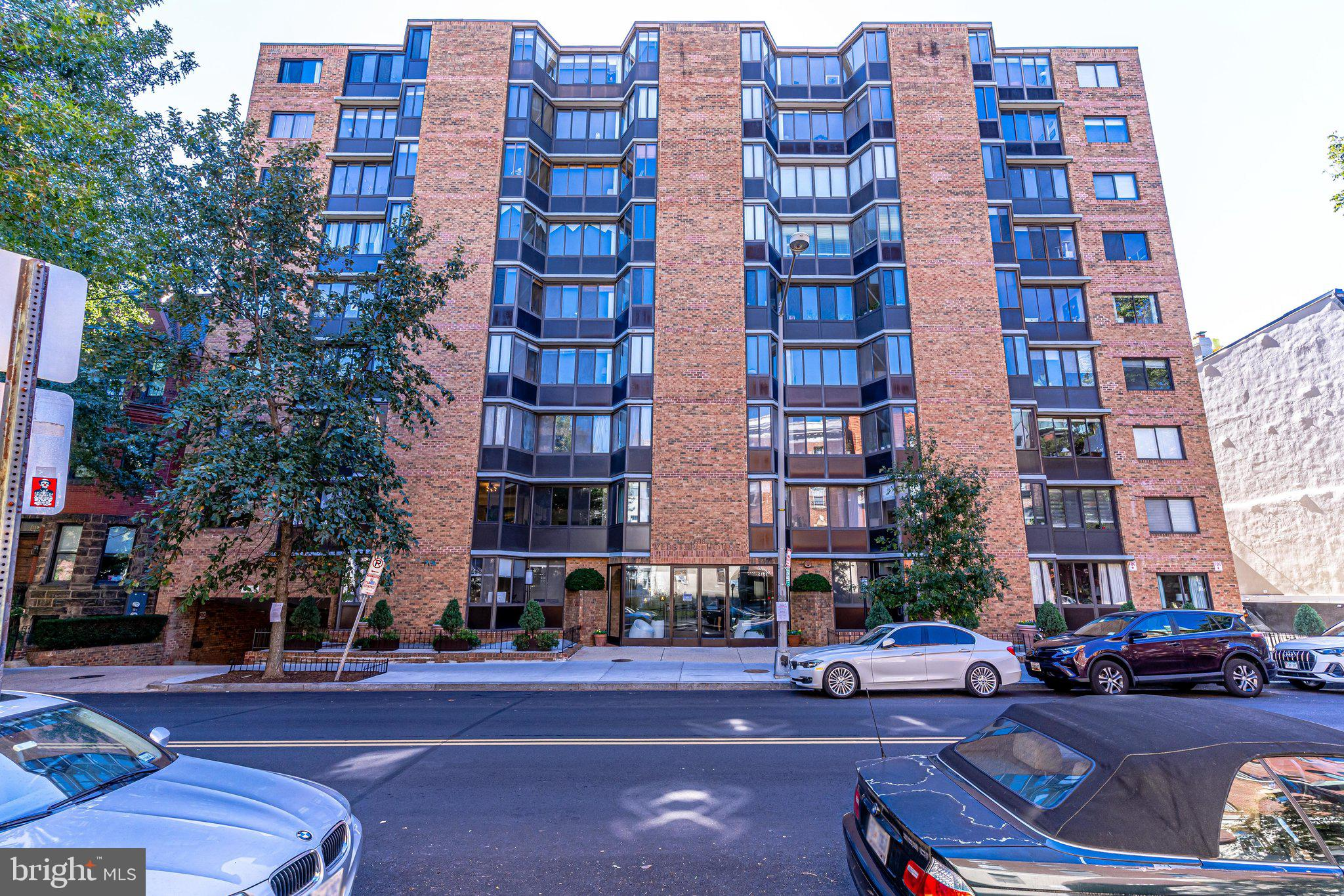 Gorgeous 1BR/1BA contemporary condo with a private balcony and updates galore in the heart of Dupont
