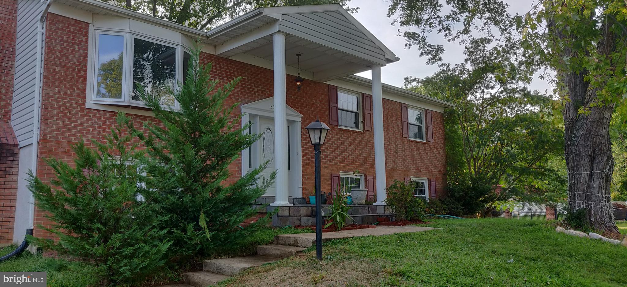 Nicely updated bright single-family home, corner lot with large flat backyard. Large Master Bedroom