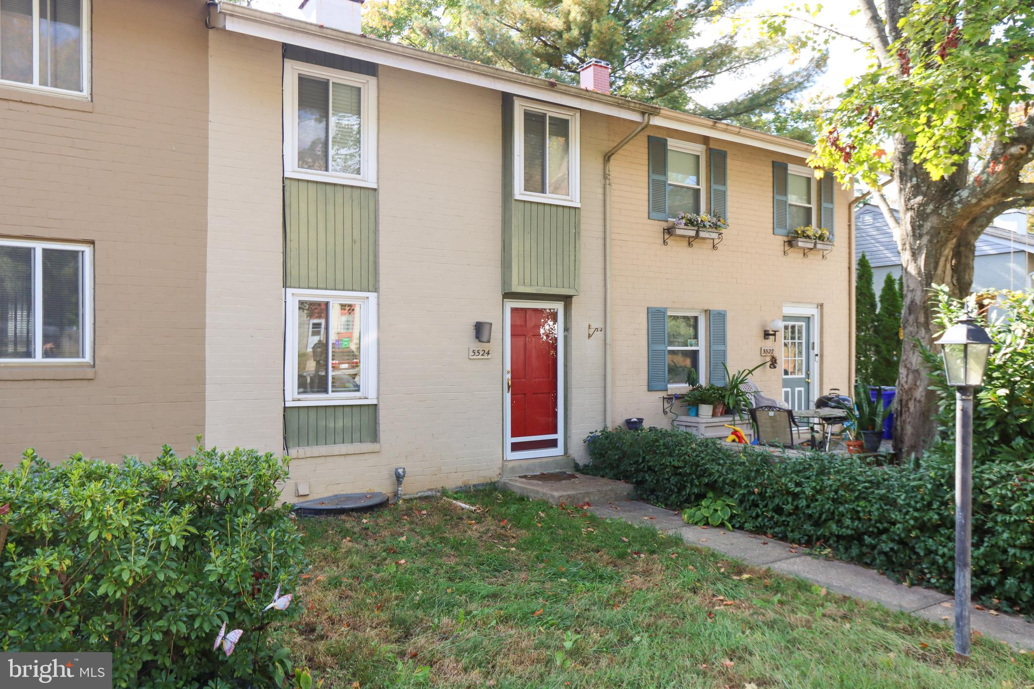Rare find townhome with 3 bedrooms, 1 full bath, and 2 half baths in sought-after Harper's Choice. W