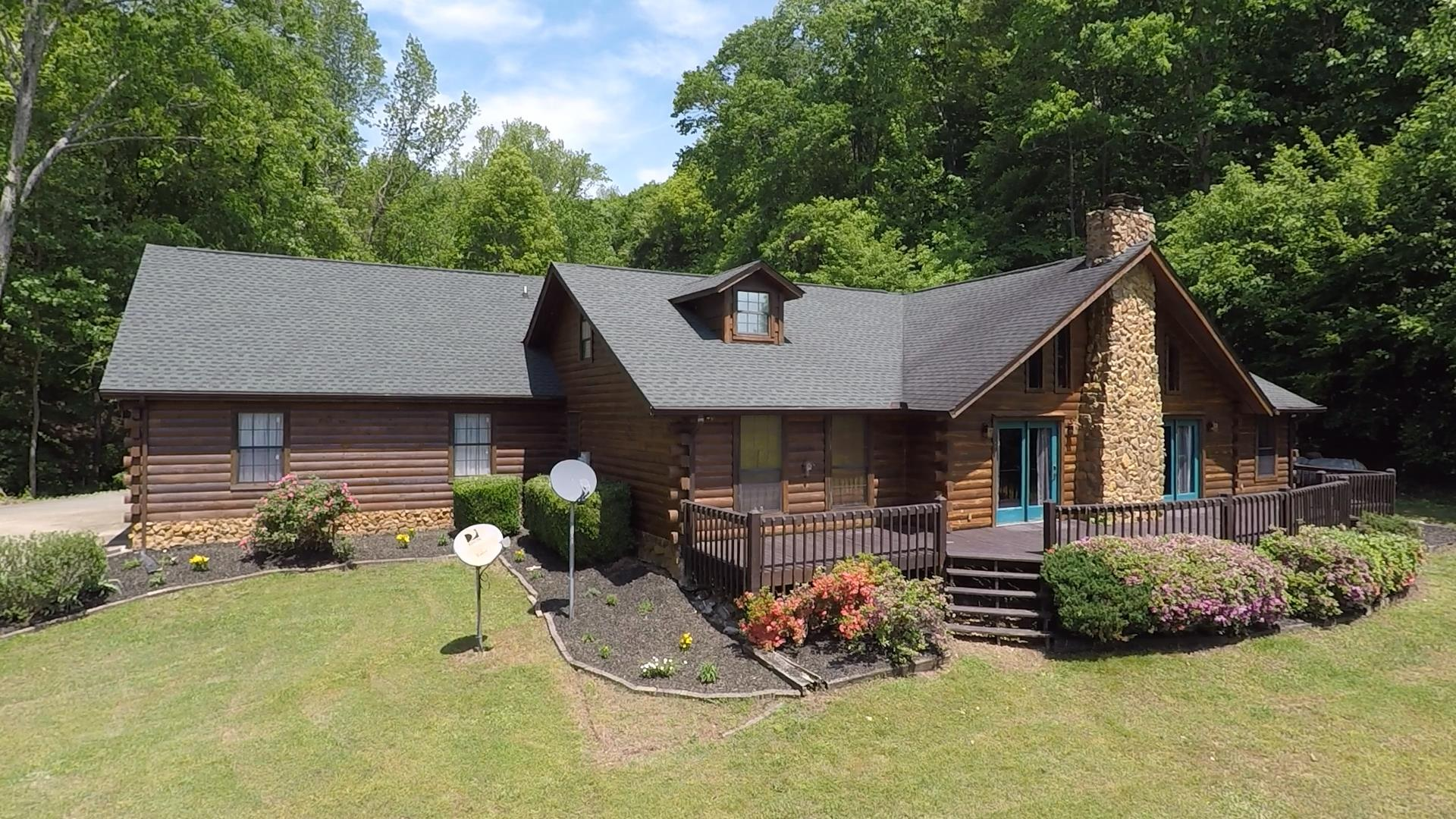 6 bdrm, 3 full bath home in a private setting with abundant wildlife! 12.80 acres (2+ pasture, other