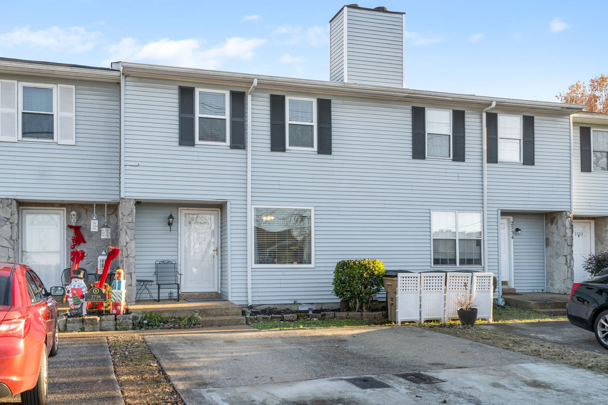 Check Out This Picture Perfect Townhome - No Backyard Neighbors - Privacy Fenced Back Patio - Hot Tub Conveys - All Stainless Steel Kitchen Appliances Convey - Hardwood Floors - Carpet on Stairs & Second Floor Recently Replaced - MUST SEE!