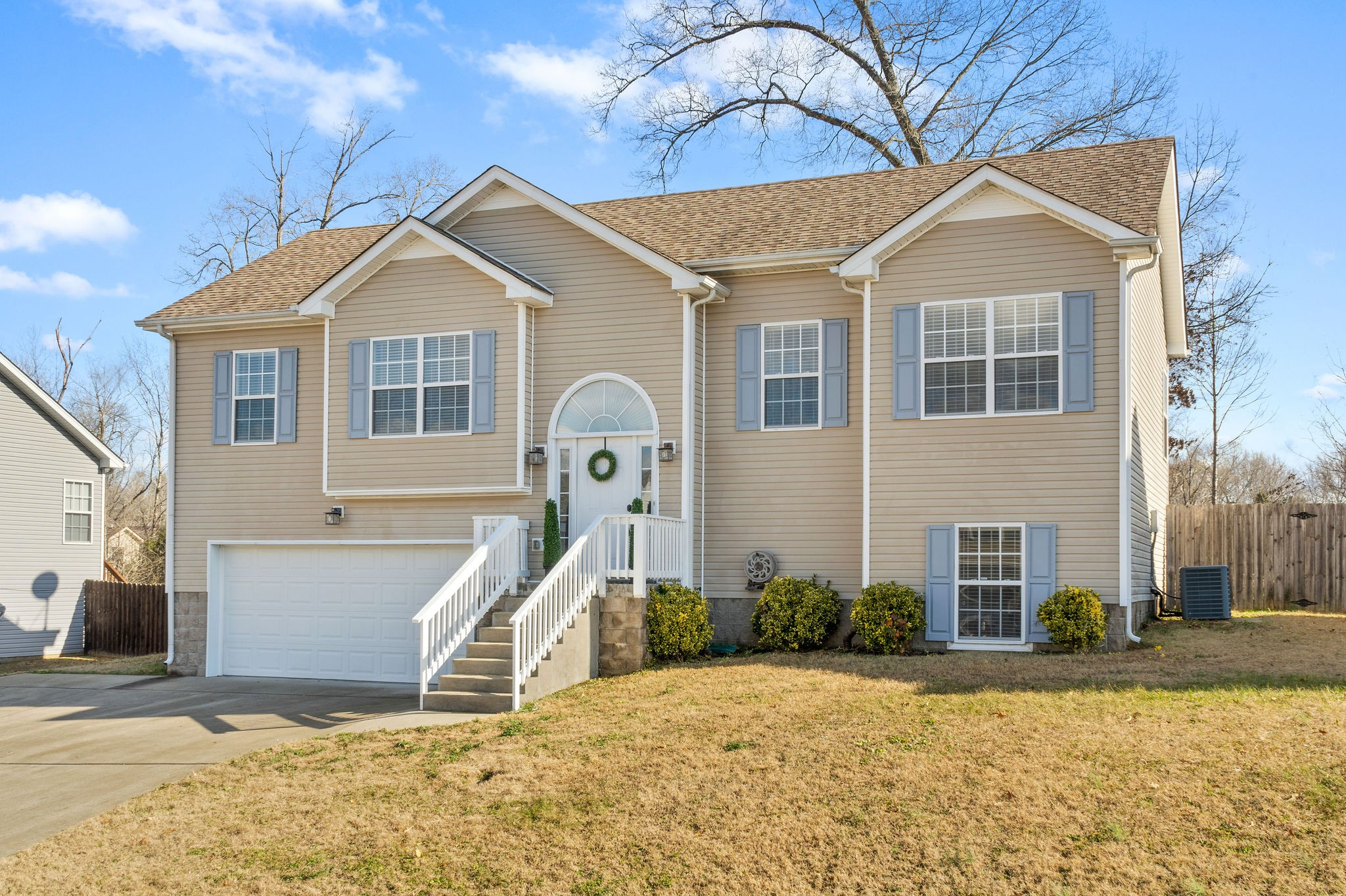 Check Out This Spacious Home Located Minutes from Gate 10 - NEW Carpet - NEW Paint - Ceramic Tile Floors - Real Hardwood Floors in Dining Room - All Stainless Steel Kitchen Appliances Convey - Move In Ready! Full Privacy Fenced Back Yard That Overlooks The Neighborhood Pond