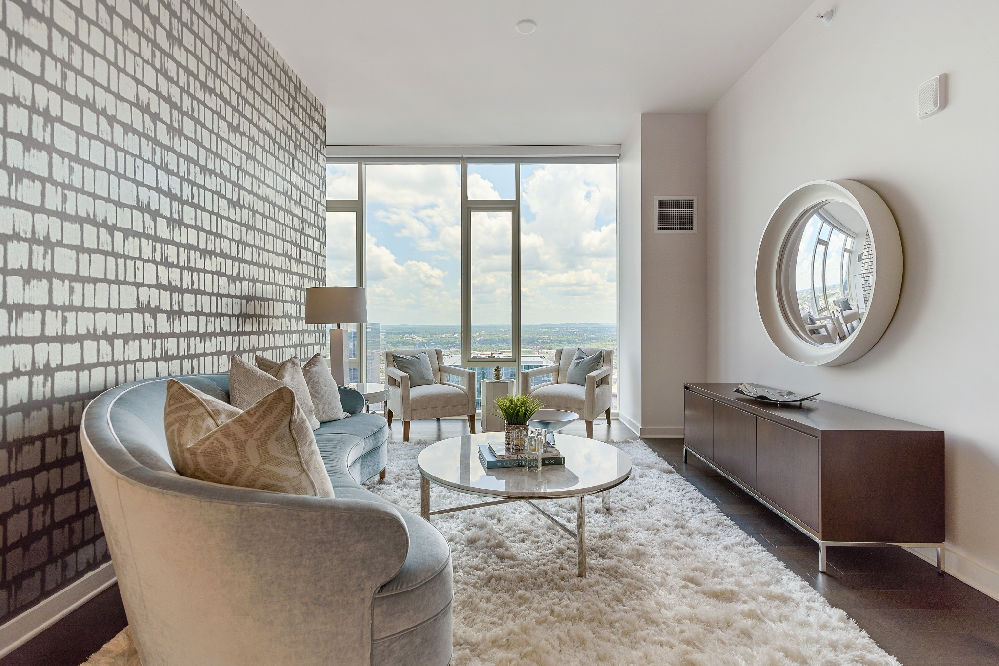 Luxury living beyond compare in Nashville's extraordinary 505 high-rise. Beautifully appointed 2-BR/