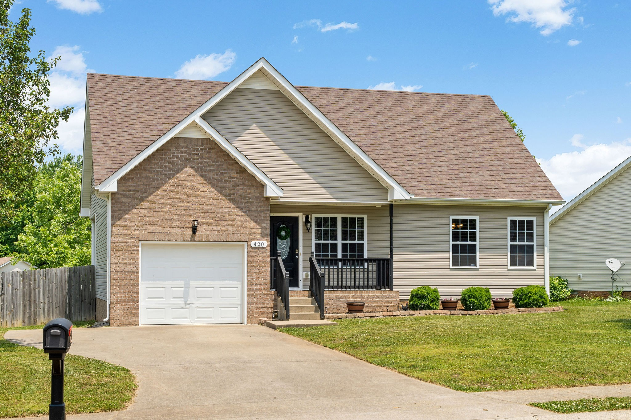 Check Out This Picture Perfect, 2 Story Home - All Kitchen Appliances Convey - Master Suite On Main Level - Covered Patio Overlooks the Privacy Fenced Backyard - Oversized 1 Car Garage - Close Proximity To Fort Campbell - MUST SEE!