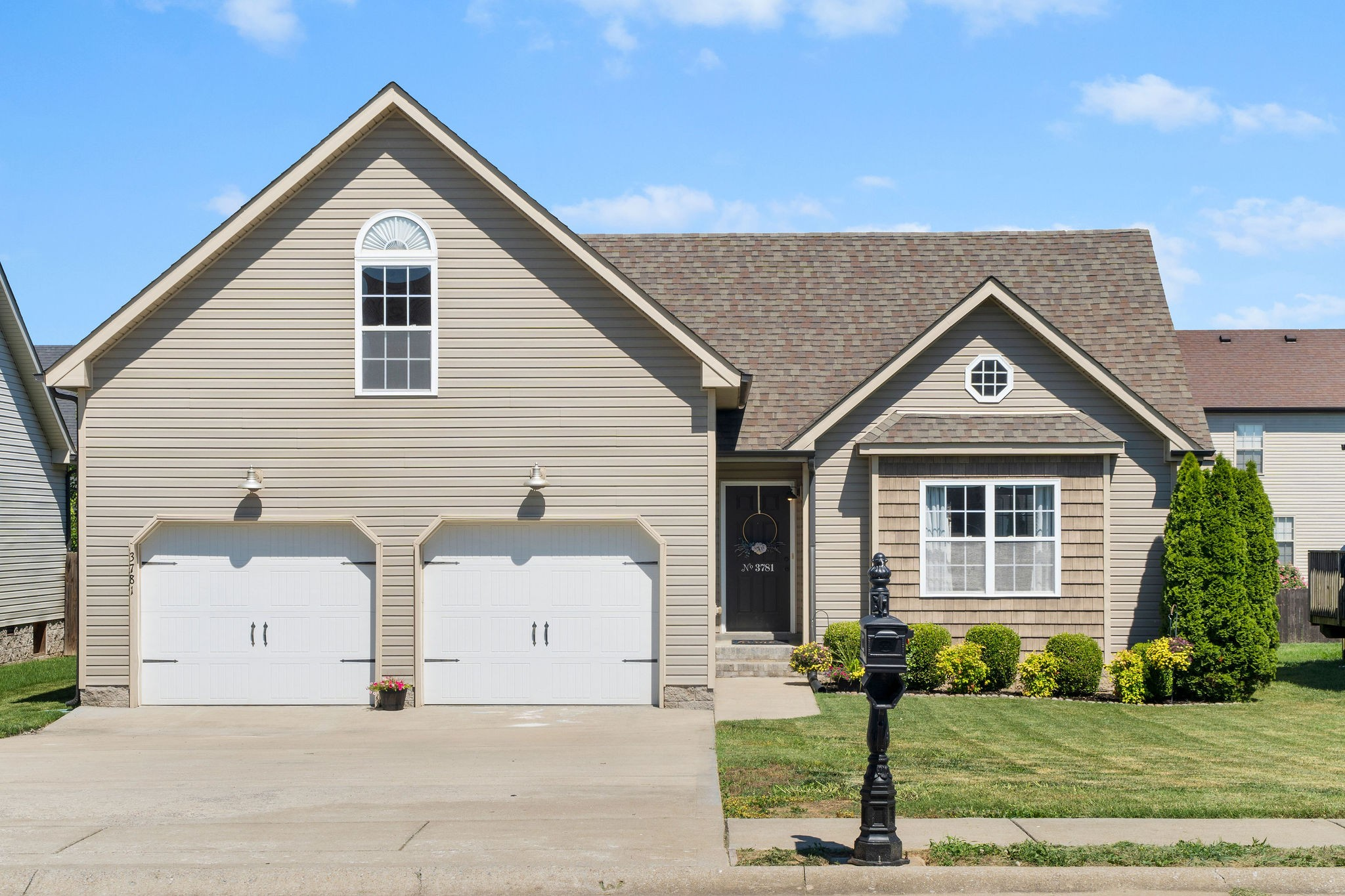 This Adorable, Fox Crossing Ranch Style Home has More to Offer than just a Convenient Location! HUGE, Over the Garage Bonus Room - Beautiful Wood Floors, Vaulted Ceilings & Fireplace in Great Room - Oversized Master Bedroom - All Stainless Steel Kitchen Appliances Convey - Privacy Fenced Backyard
