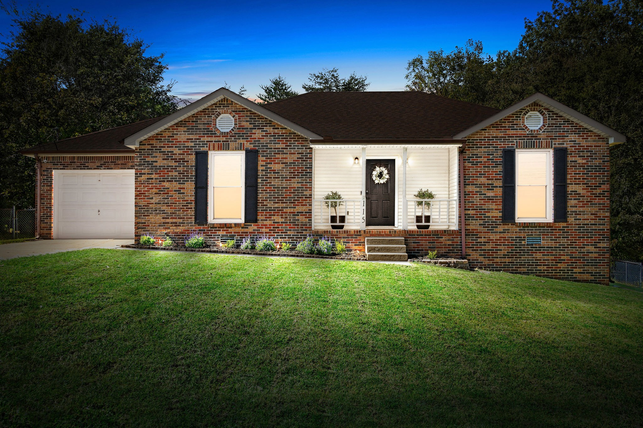 Welcome Home! 3 Bedrooms & 2 Bathrooms with Curb Appeal - Fully Fenced Yard on Tree Line - Vaulted Ceiling in Living Room - Fireplace with Shiplap - Master Suite with 2 Closets - No Carpet - Separate Laundry Room- Gorgeous Yard with Trees & Large Back Deck - Come See Today!