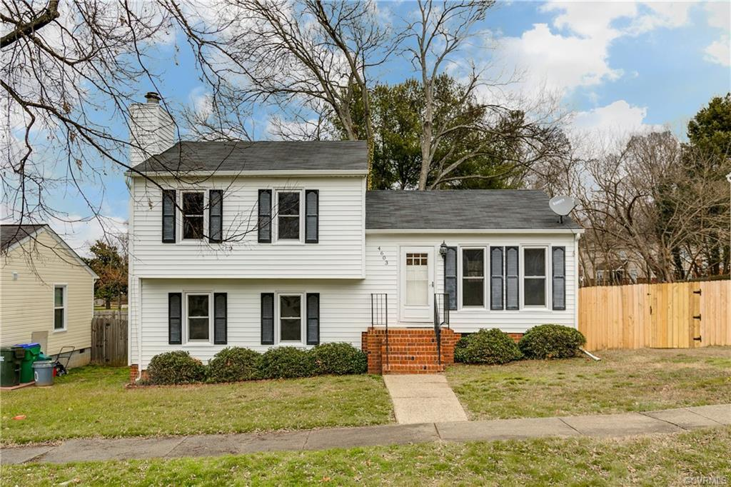 What a great opportunity to get in this close to the city! This 4 Bedroom 2 bath home is clean and r
