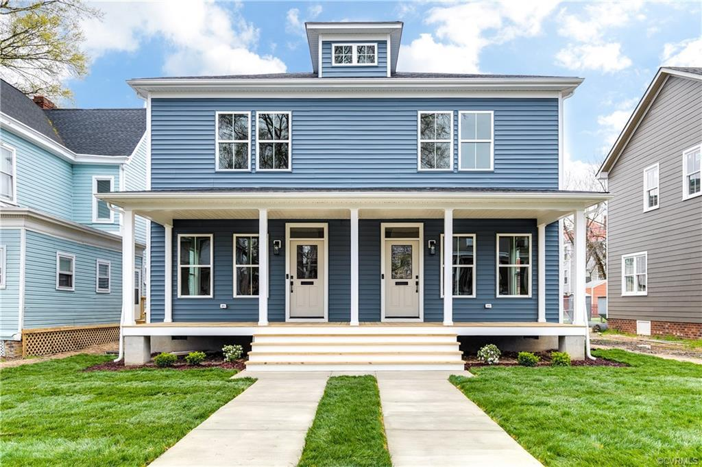 Welcome to 2004 Barton Ave.  A gorgeous new construction home featuring 3 bedrooms, 2.5 baths and al